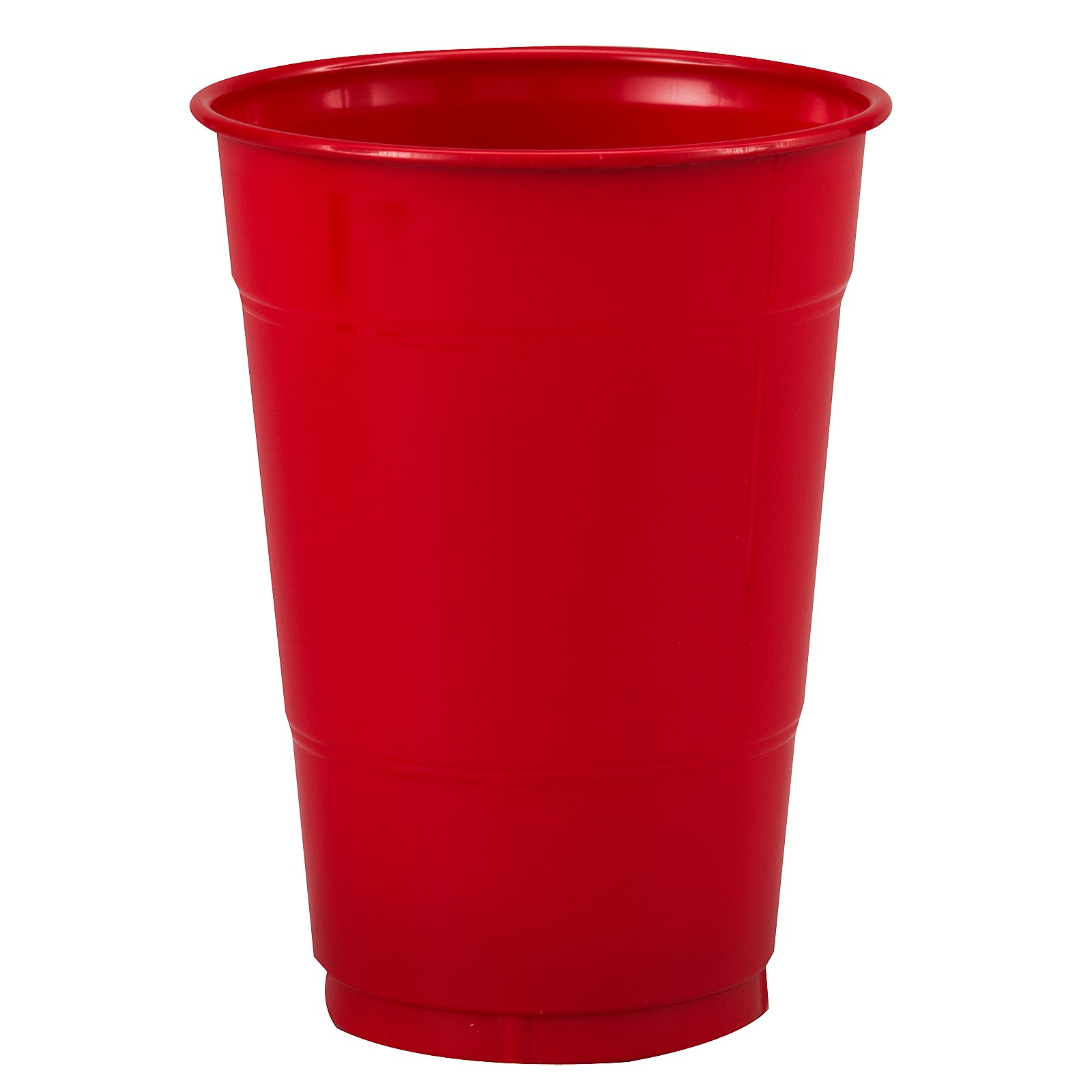 Classic Red (Red) 16 oz. Plastic Cups (20 count)