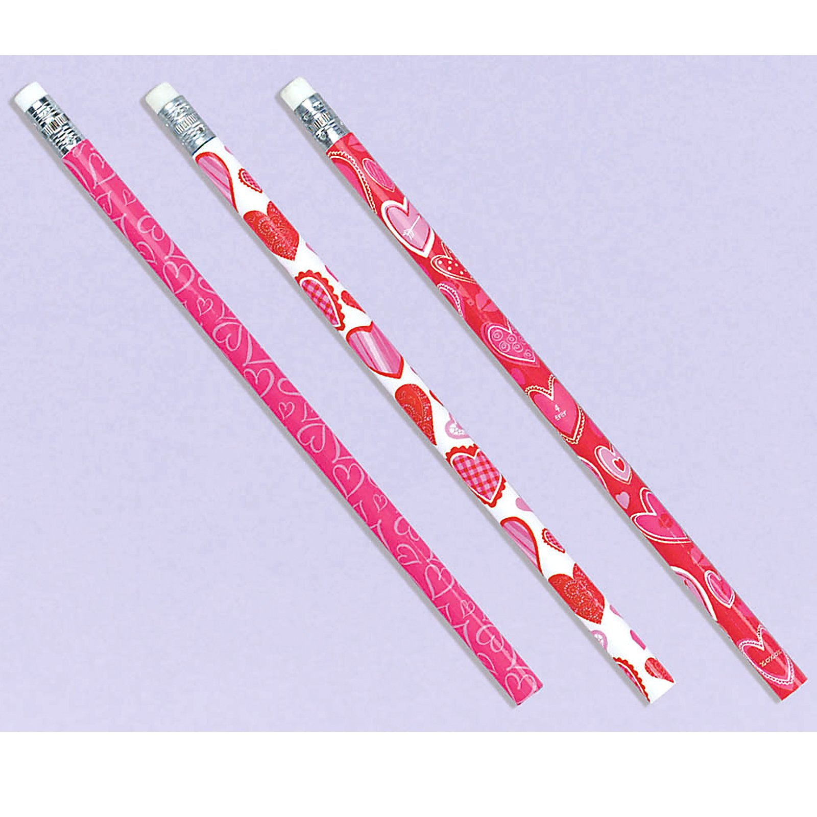 Heart Pencils (24 count)