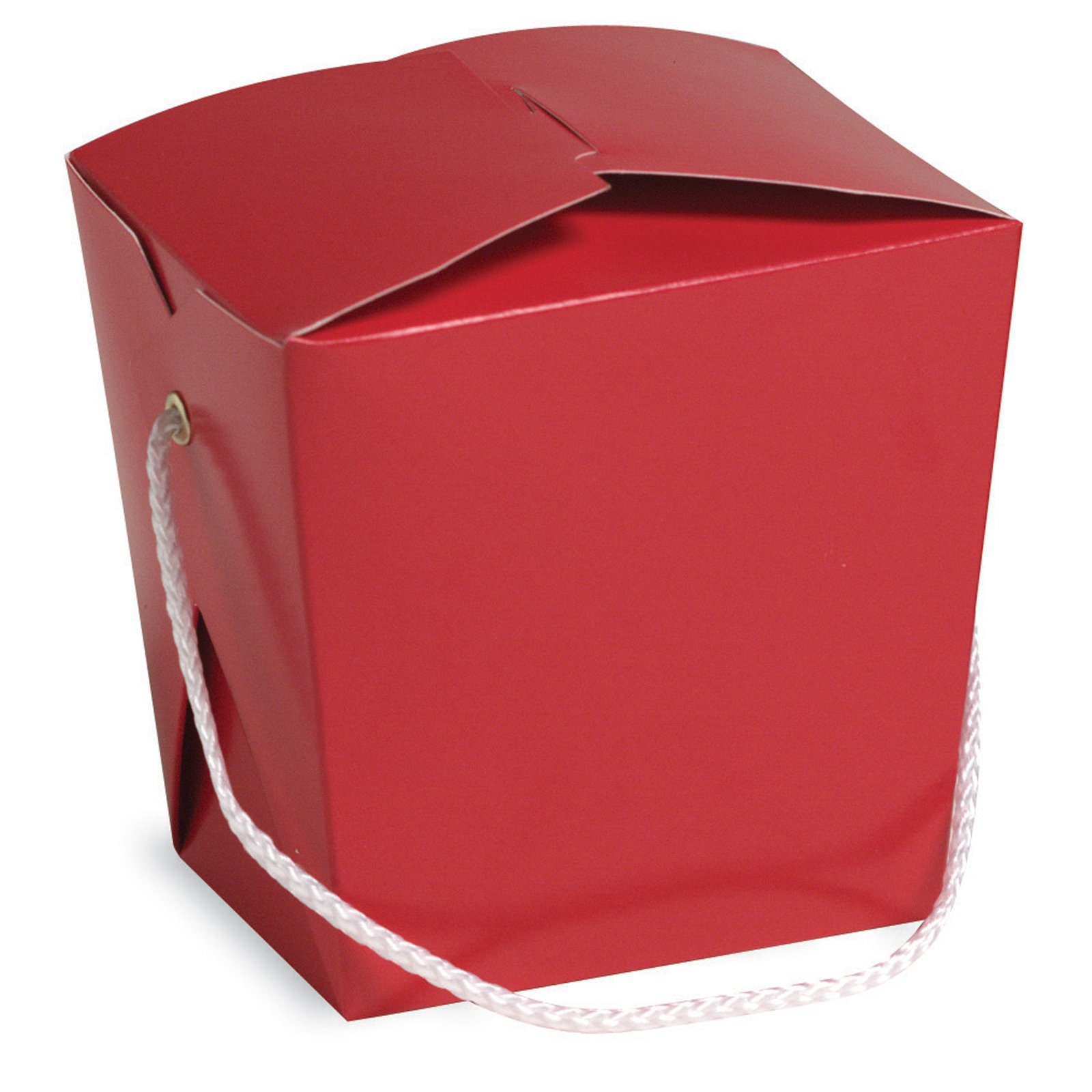 Red Takeout Favor Box (1 count)