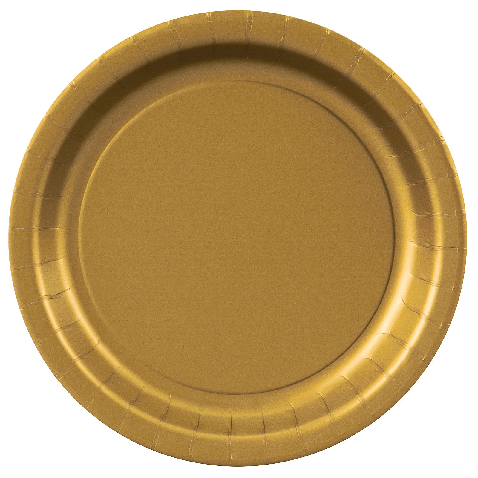 Glittering Gold (Gold) Dessert Plates (24 count)