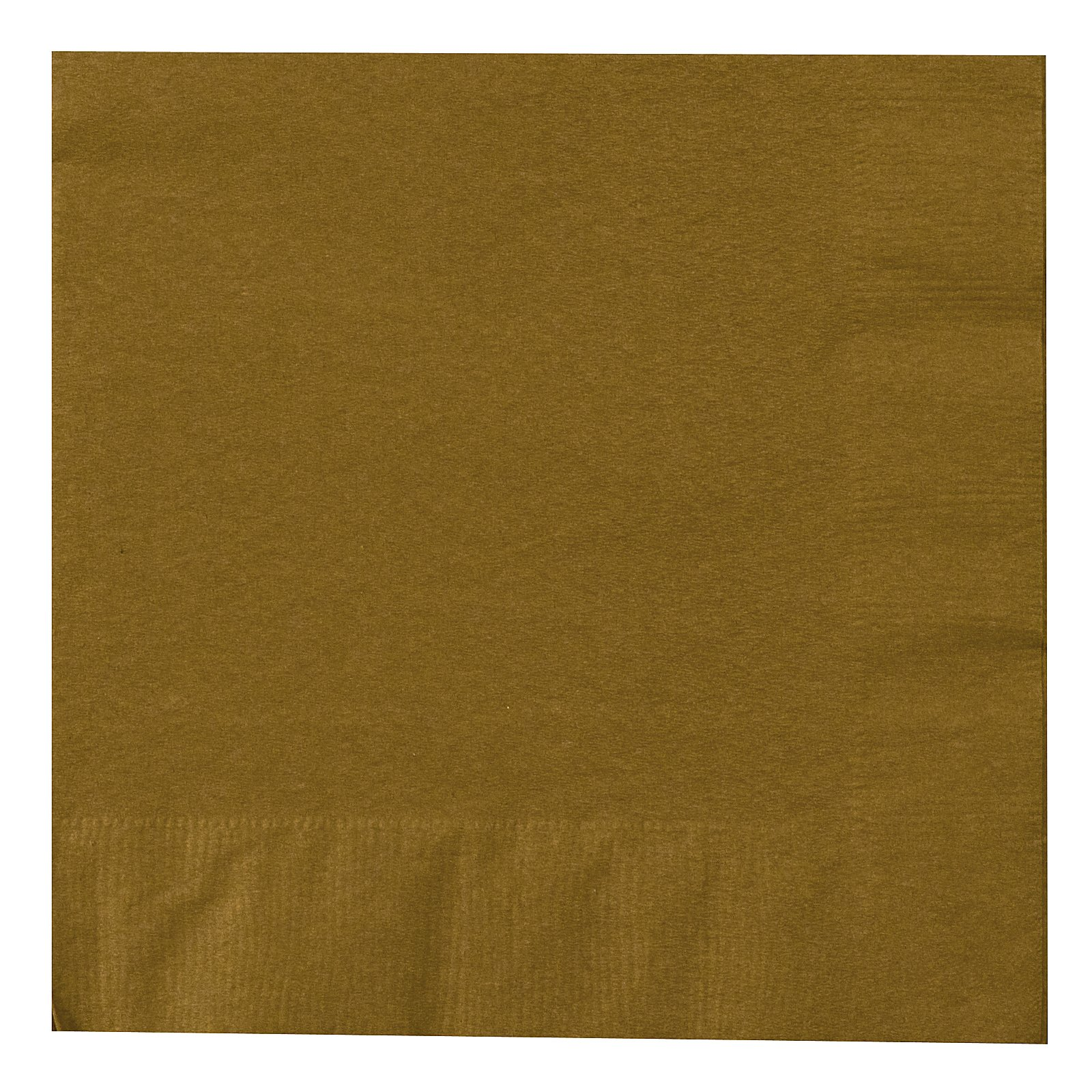 Glittering Gold (Gold) Lunch Napkins (50 count)