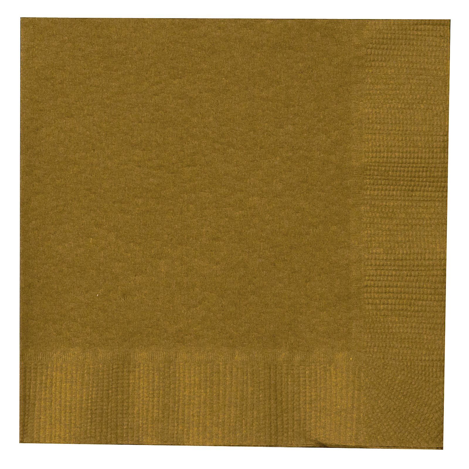 Glittering Gold (Gold) Beverage Napkins (50 count)