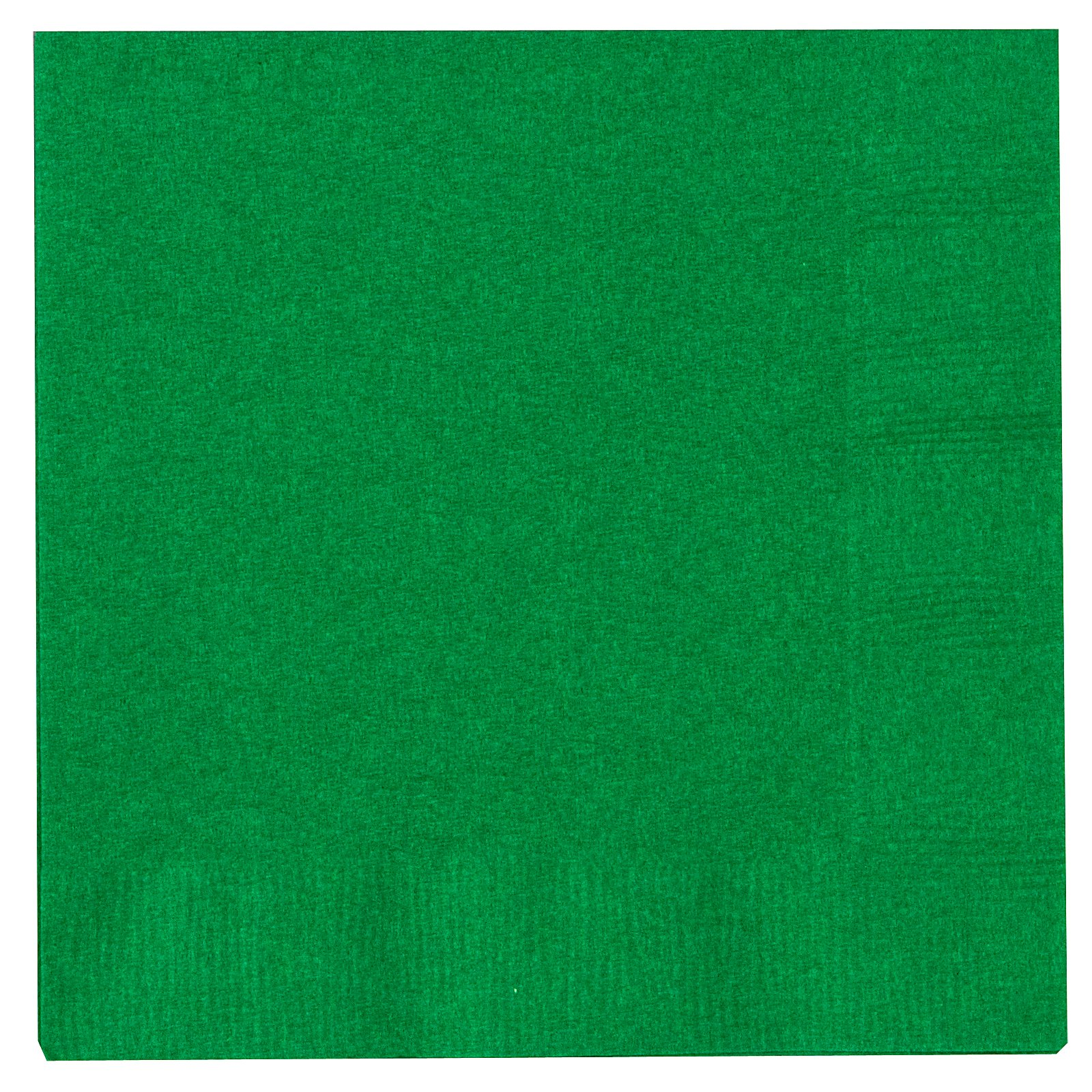 Emerald Green (Green) Beverage Napkins (50 count)