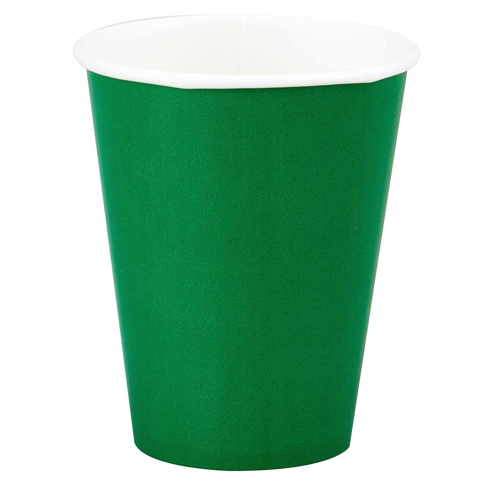 Emerald Green (Green) 9 oz. Cups (24 count)