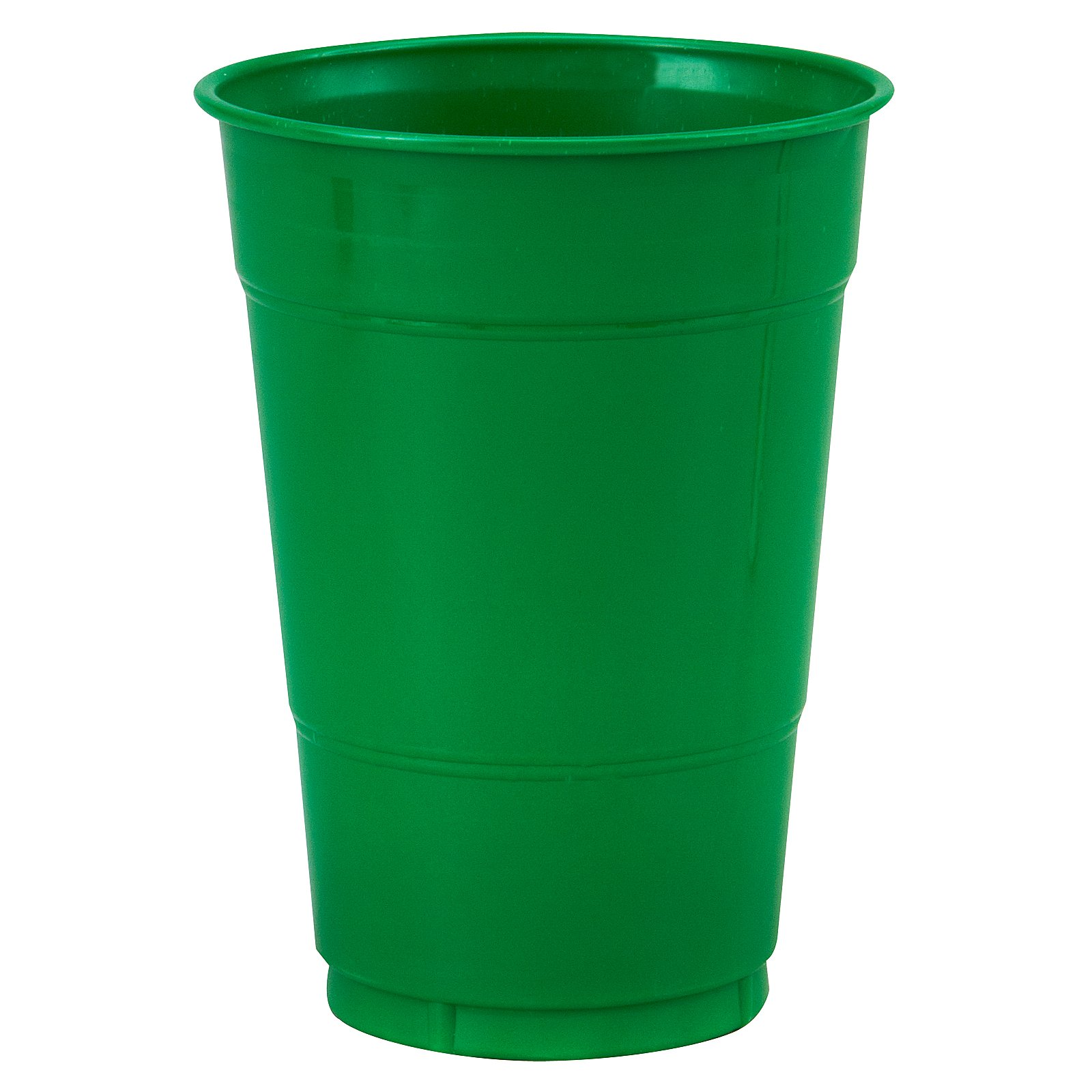 Emerald Green (Green) 16 oz. Plastic Cups (20 count)
