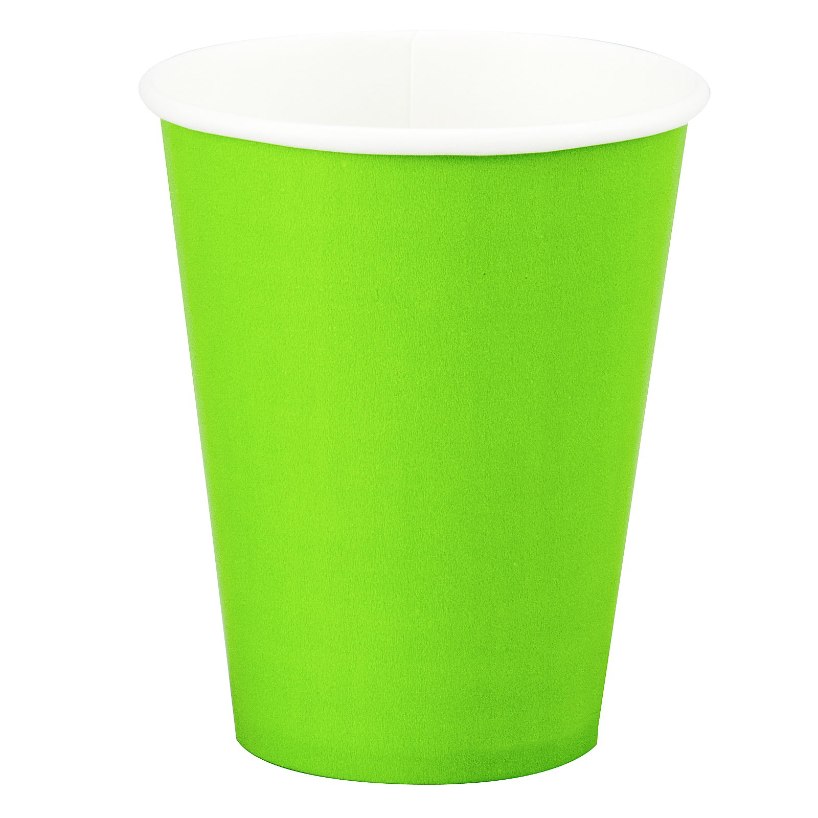 Fresh Lime (Lime Green) 9 oz. Paper Cups (24 count)