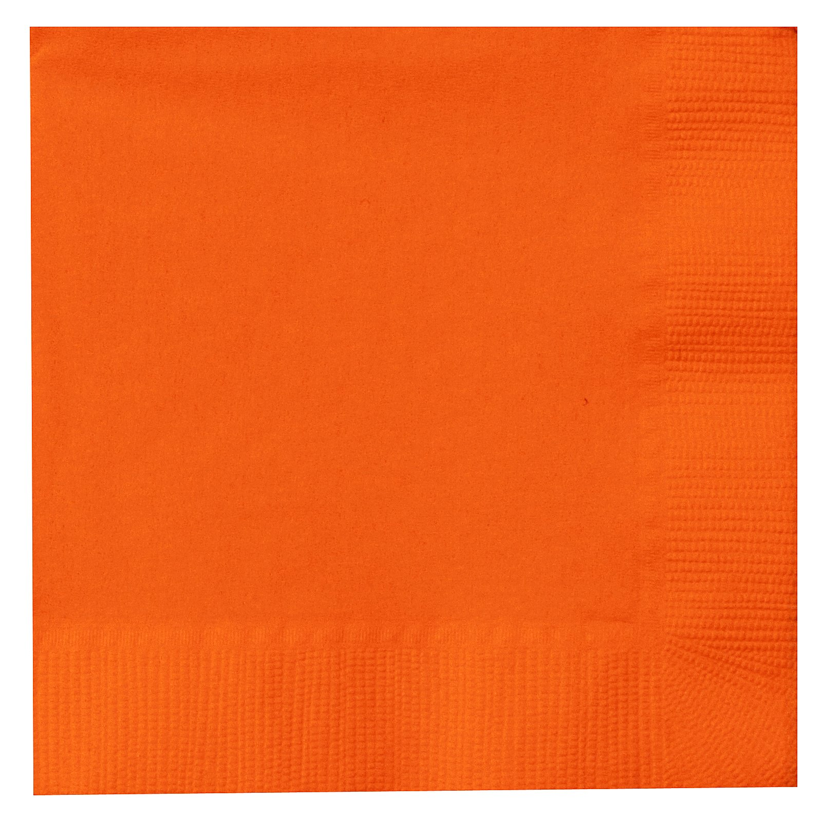 Sunkissed Orange (Orange) Beverage Napkins (50 count)