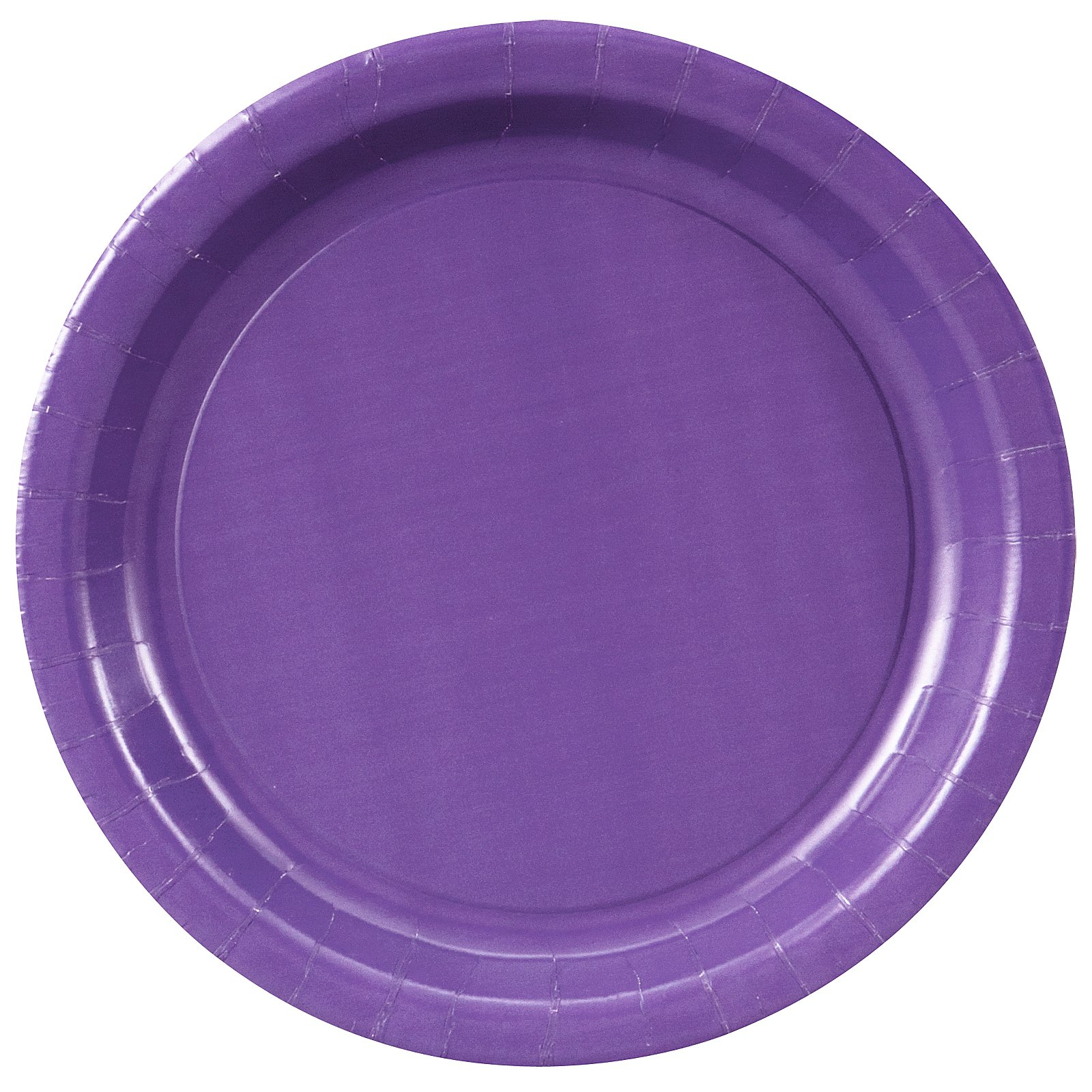 Perfect Purple (Purple) Paper Dinner Plates (24 count)