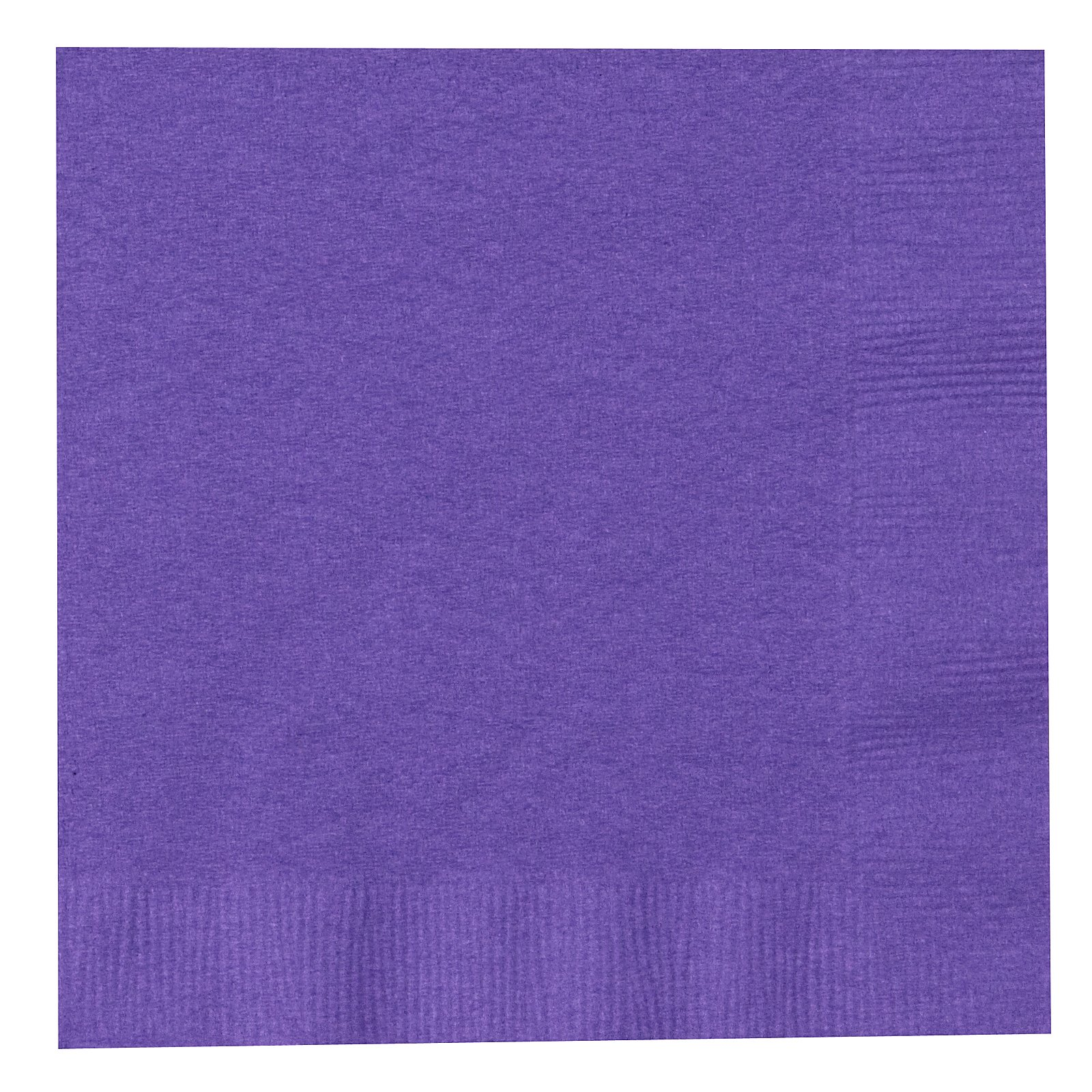 Perfect Purple (Purple) Beverage Napkins (50 count)