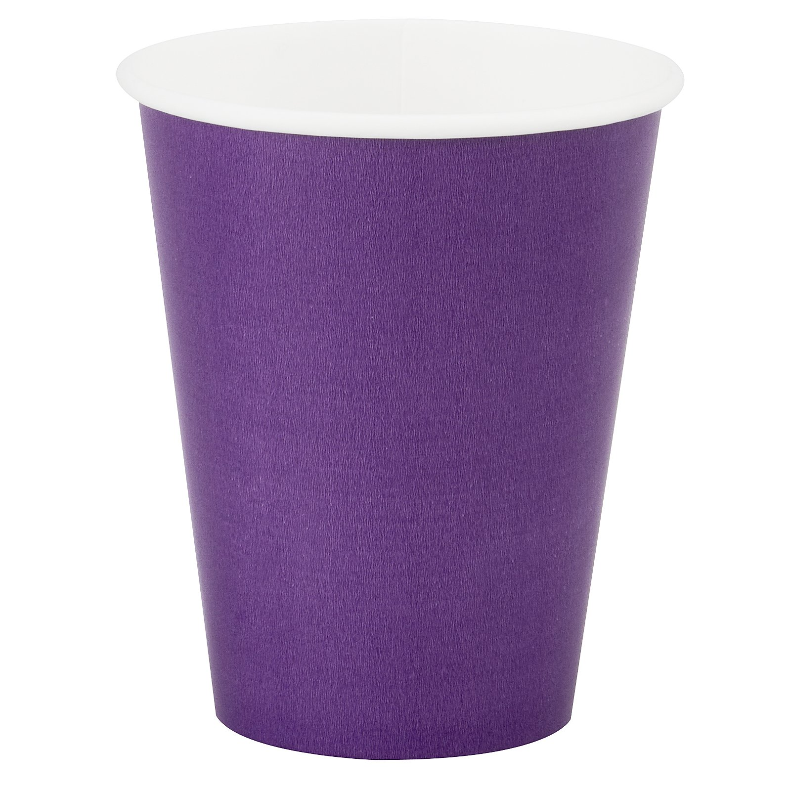 Perfect Purple (Purple) 9 oz. Paper Cups (24 count)