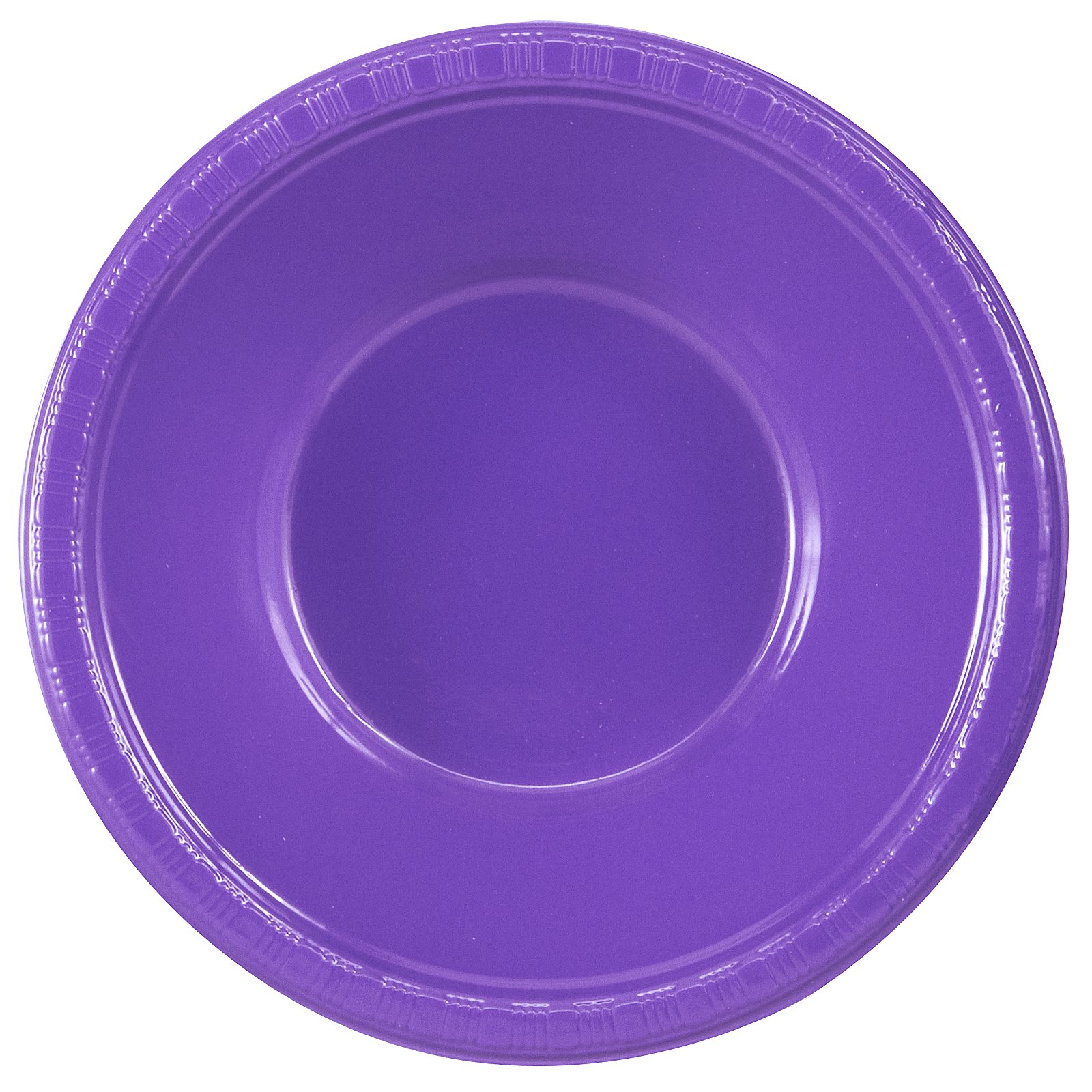Perfect Purple (Purple) Plastic Bowls (20 count)