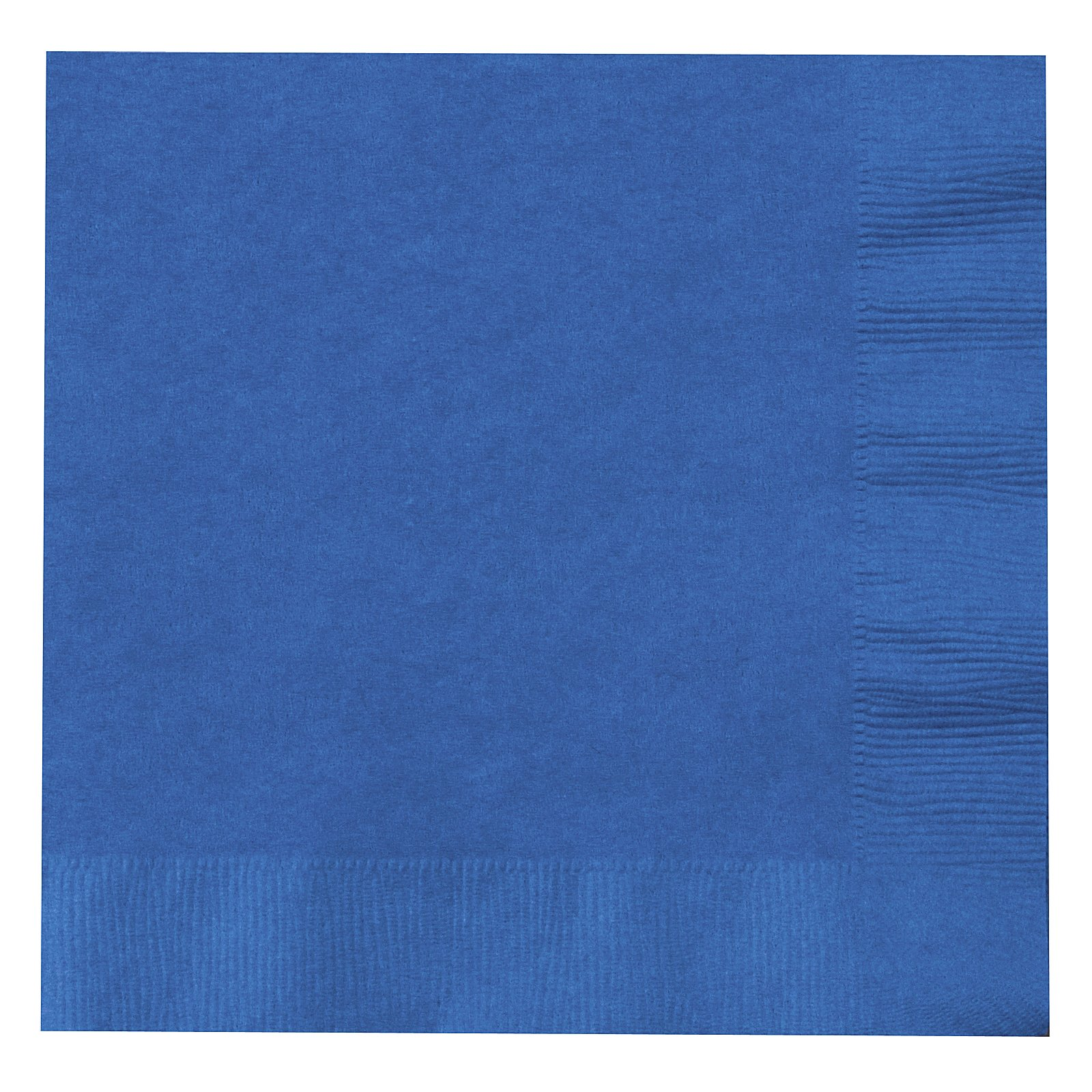 True Blue (Blue) Lunch Napkins (50 count)