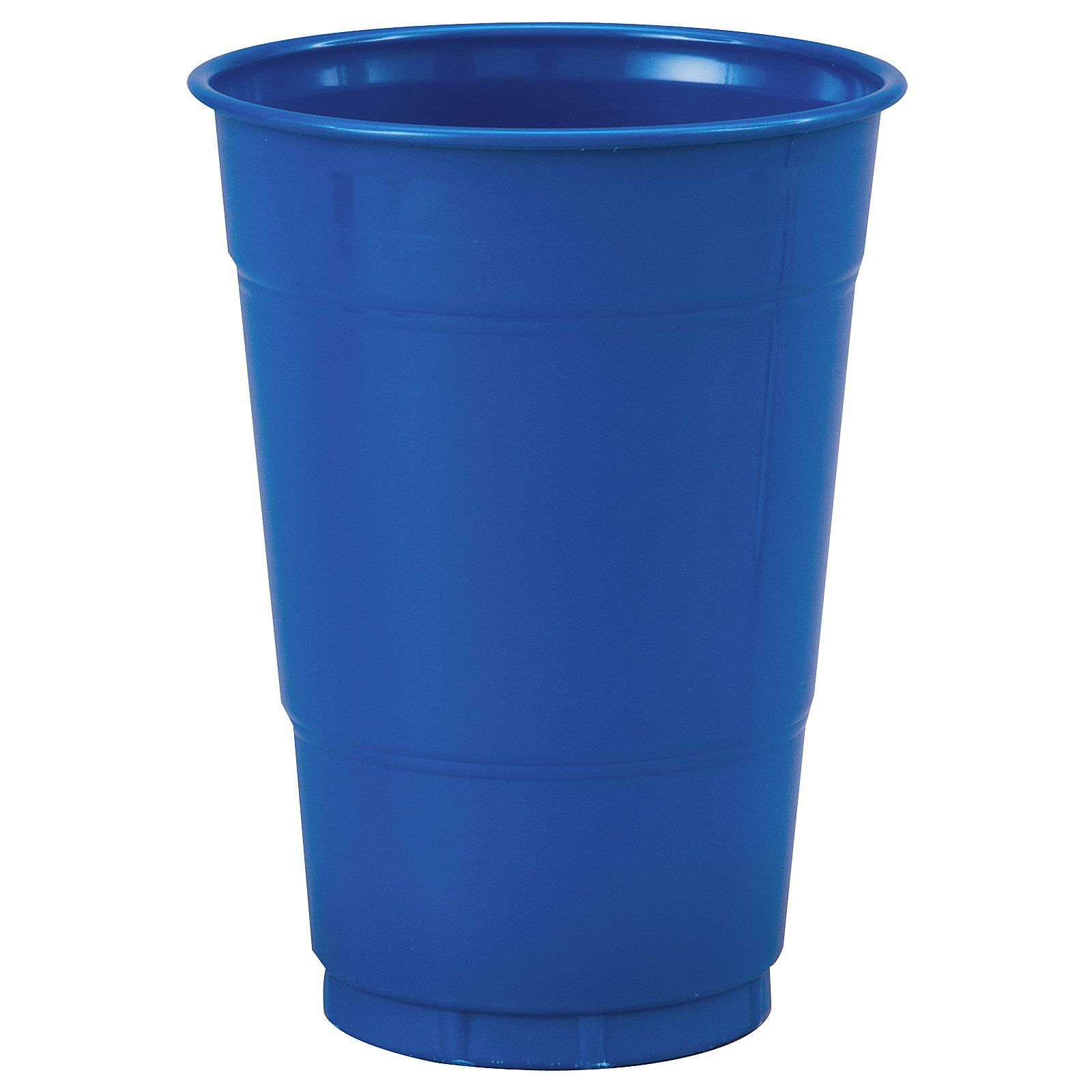 True Blue (Blue) 16 oz. Plastic Cups (20 count)