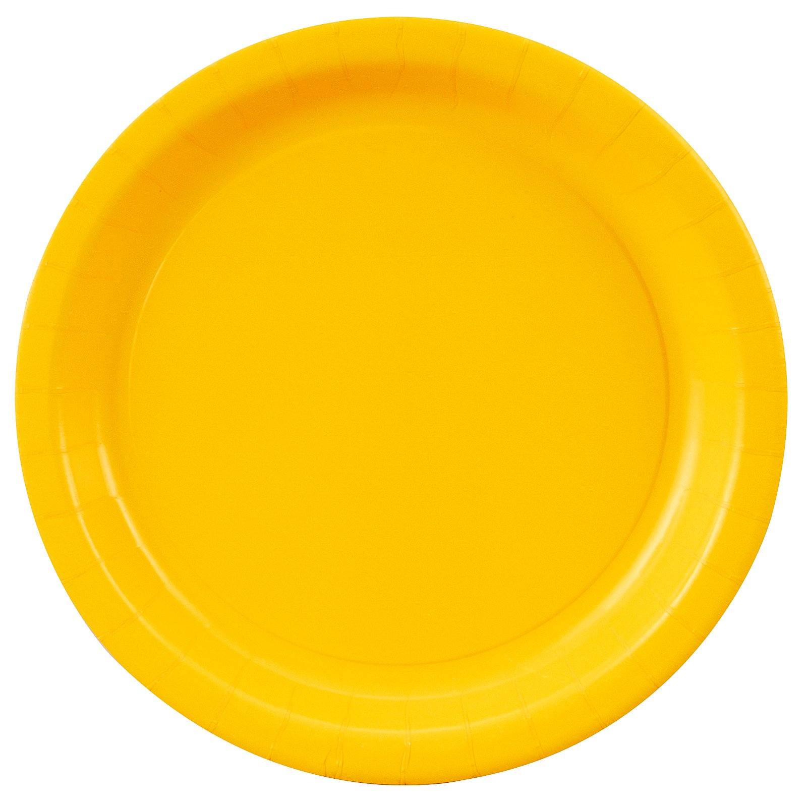 School Bus Yellow (Yellow) Dinner Plates (24 count)