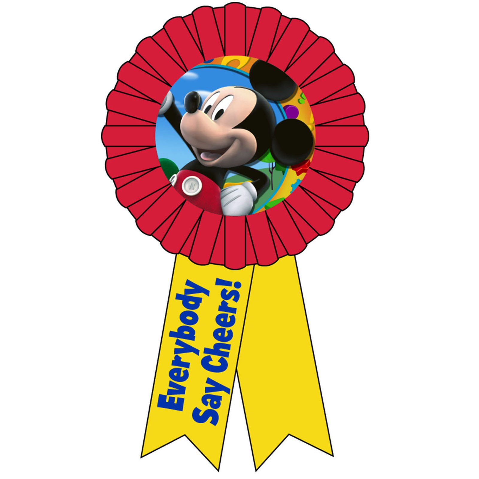 Disney Mickey Mouse Award Ribbon