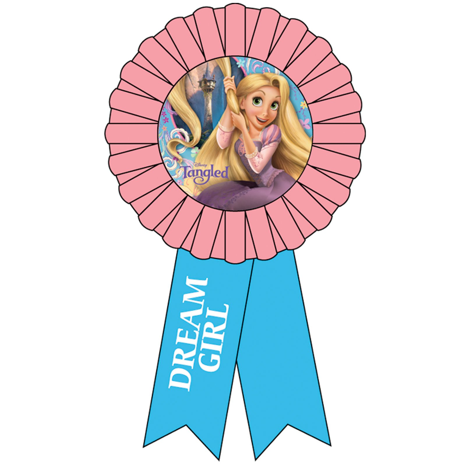 Tangled Award Ribbon
