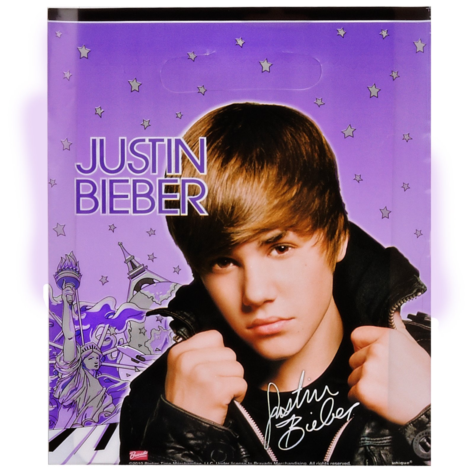 Justin Bieber Treat Bags (8 count)