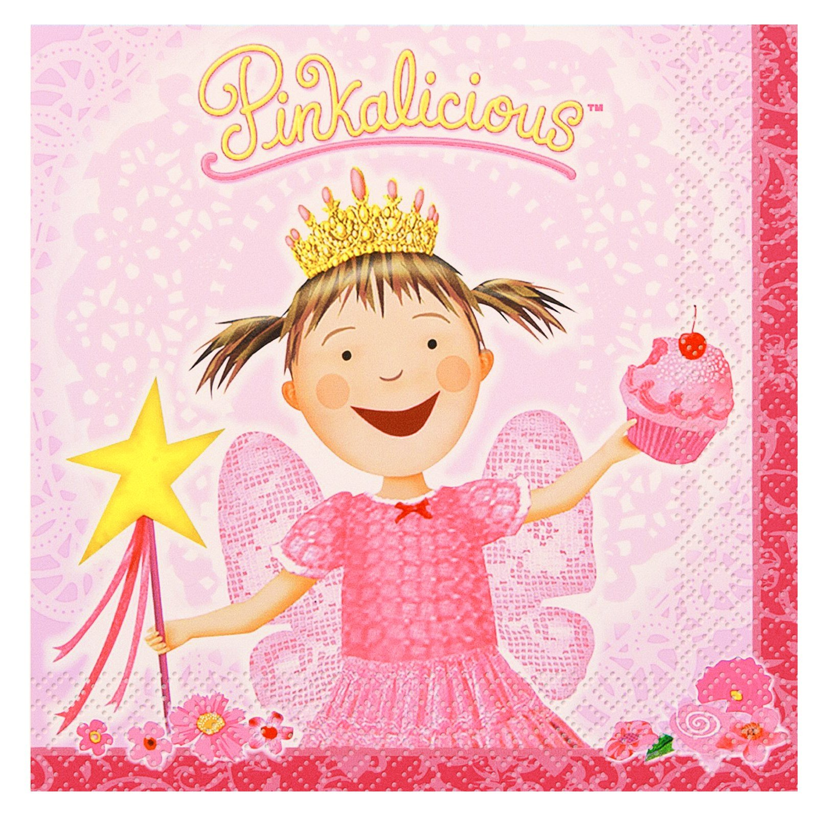 Pinkalicious Lunch Napkins (16 count)