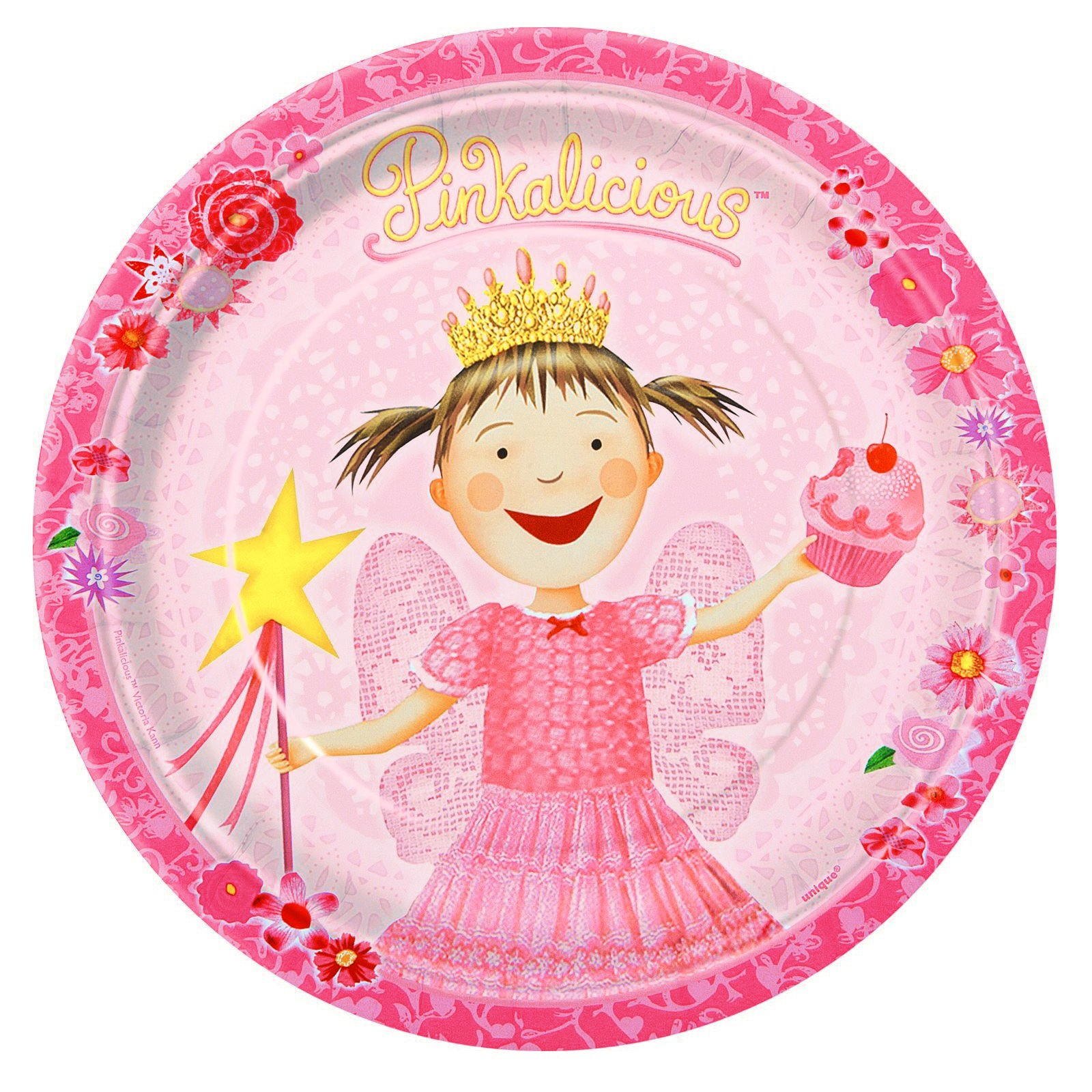 Pinkalicious Dessert Plates (8 count)