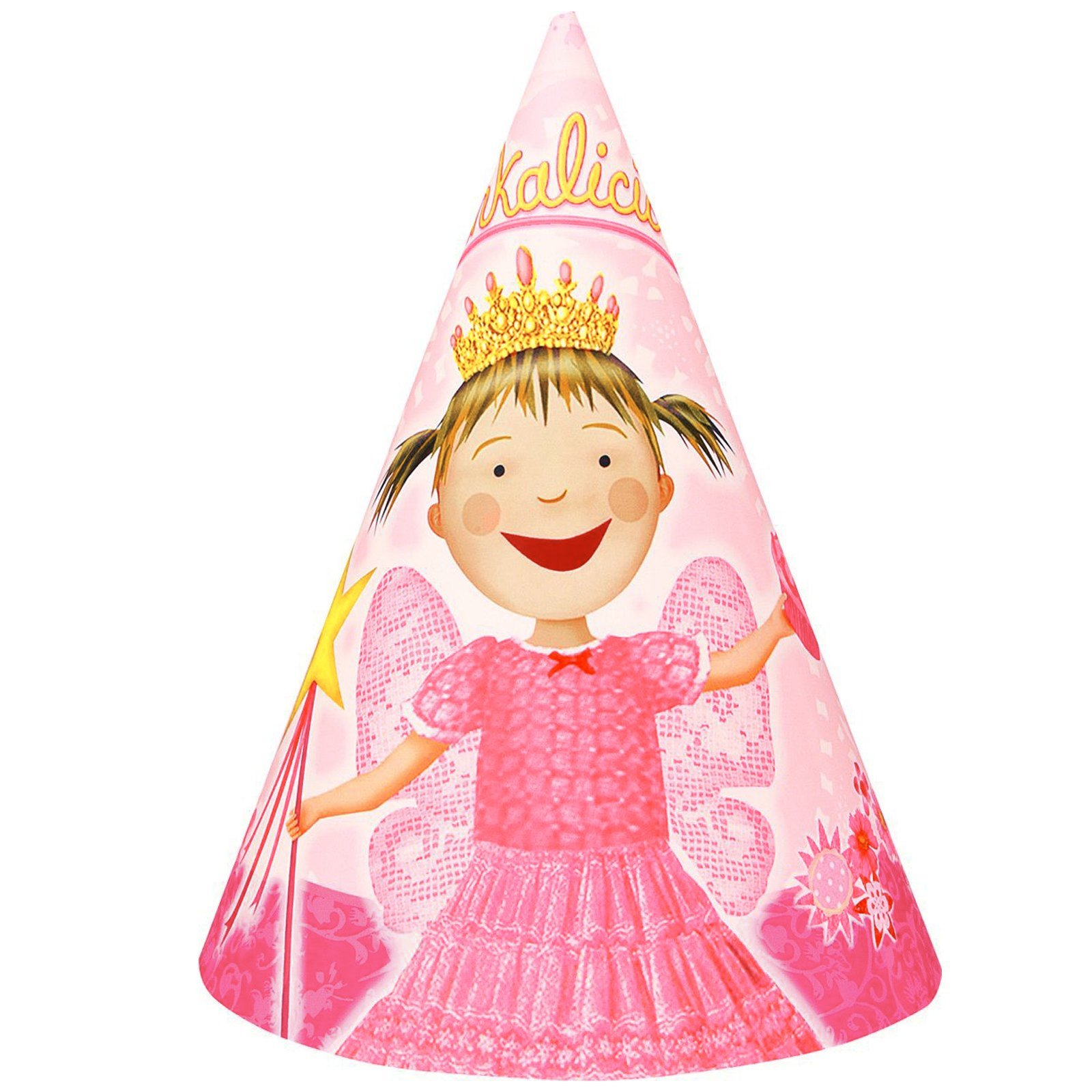 Pinkilicious Cone Hats (8 count)