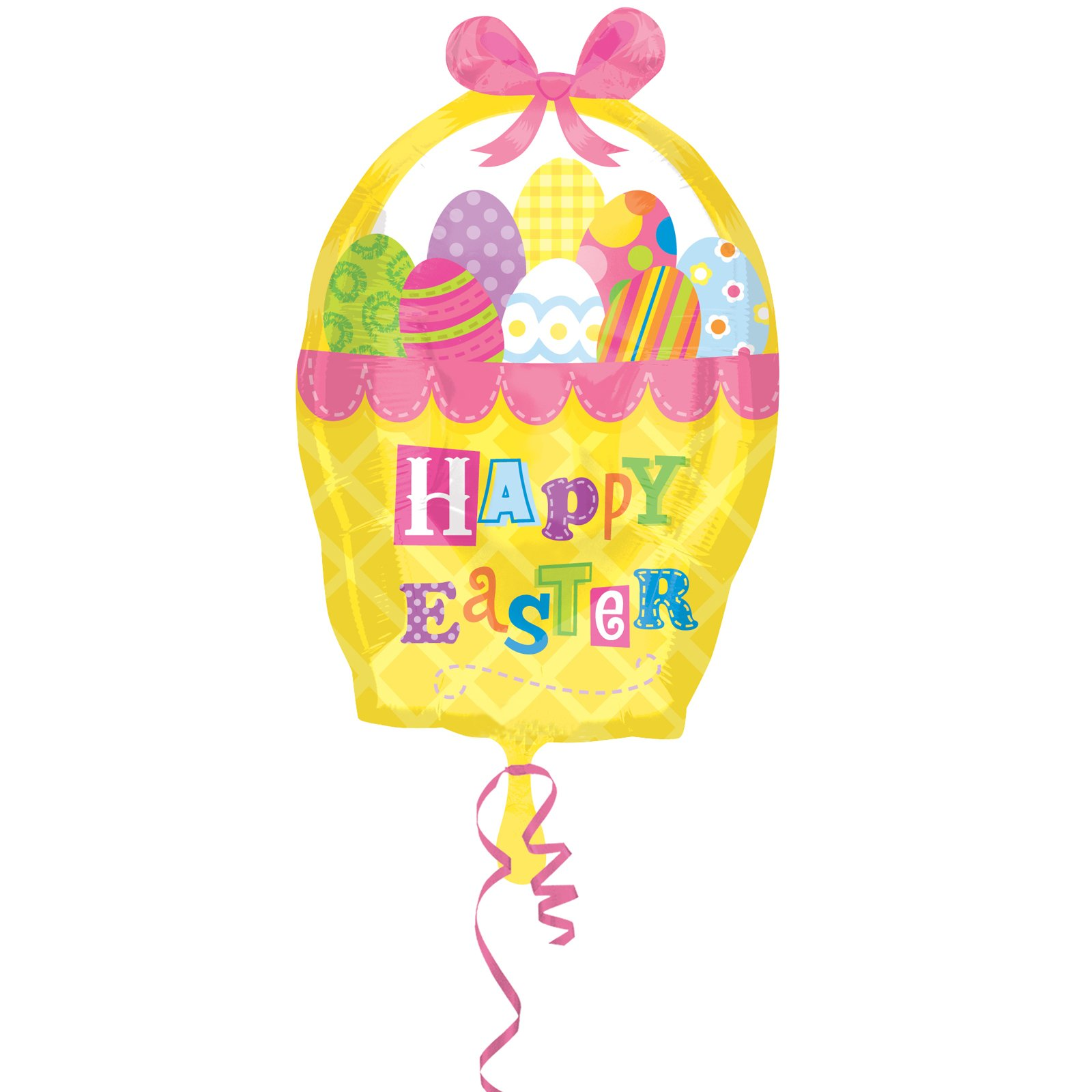 "Easter Basket 18"" Foil Balloon"