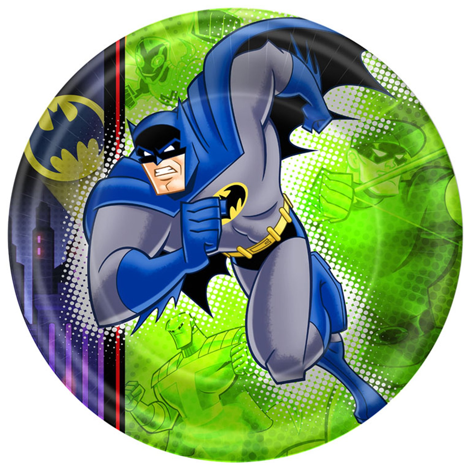 Batman Brave and Bold Dinner Plates (8 count)