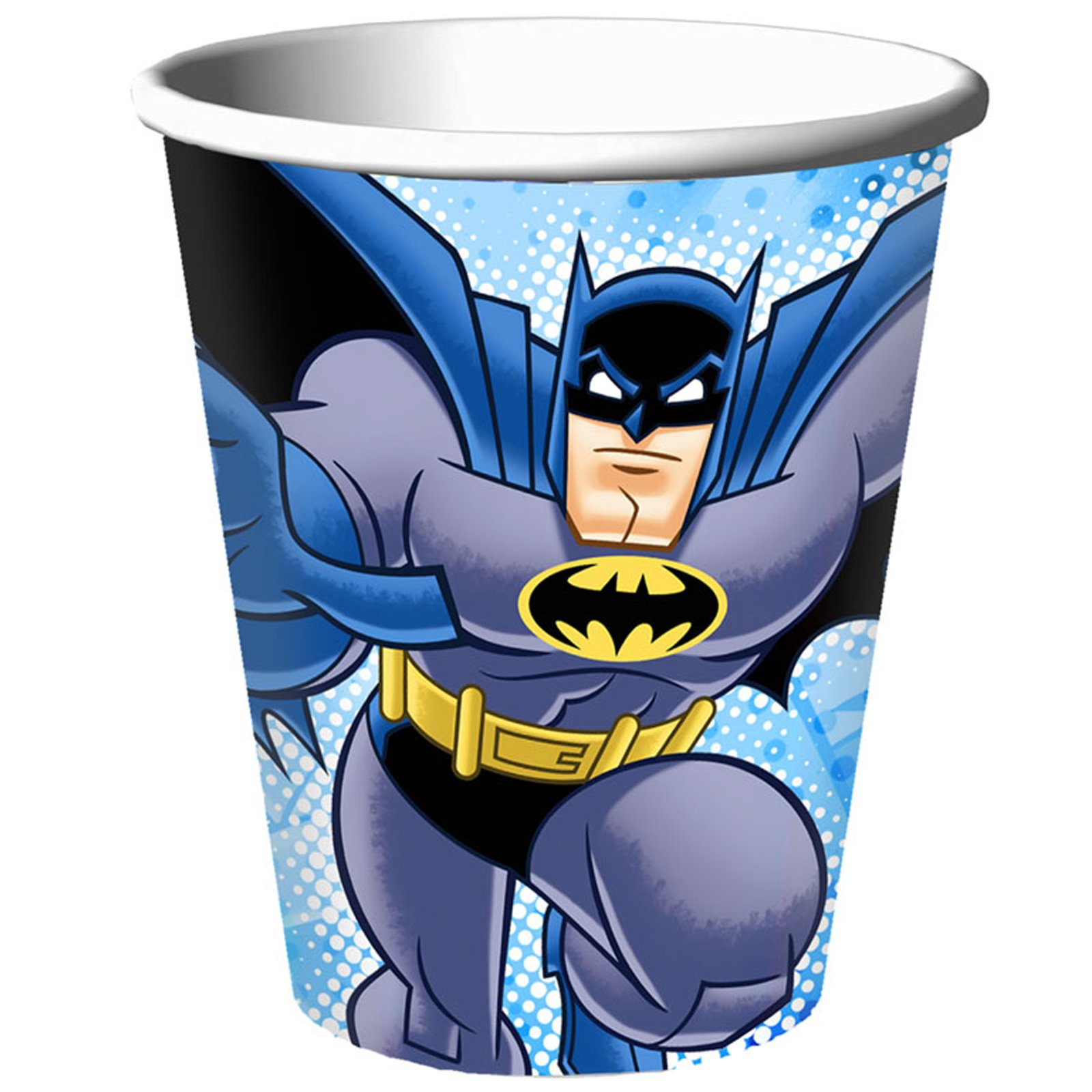 Batman Brave and Bold 9 oz. Cups (8 count)