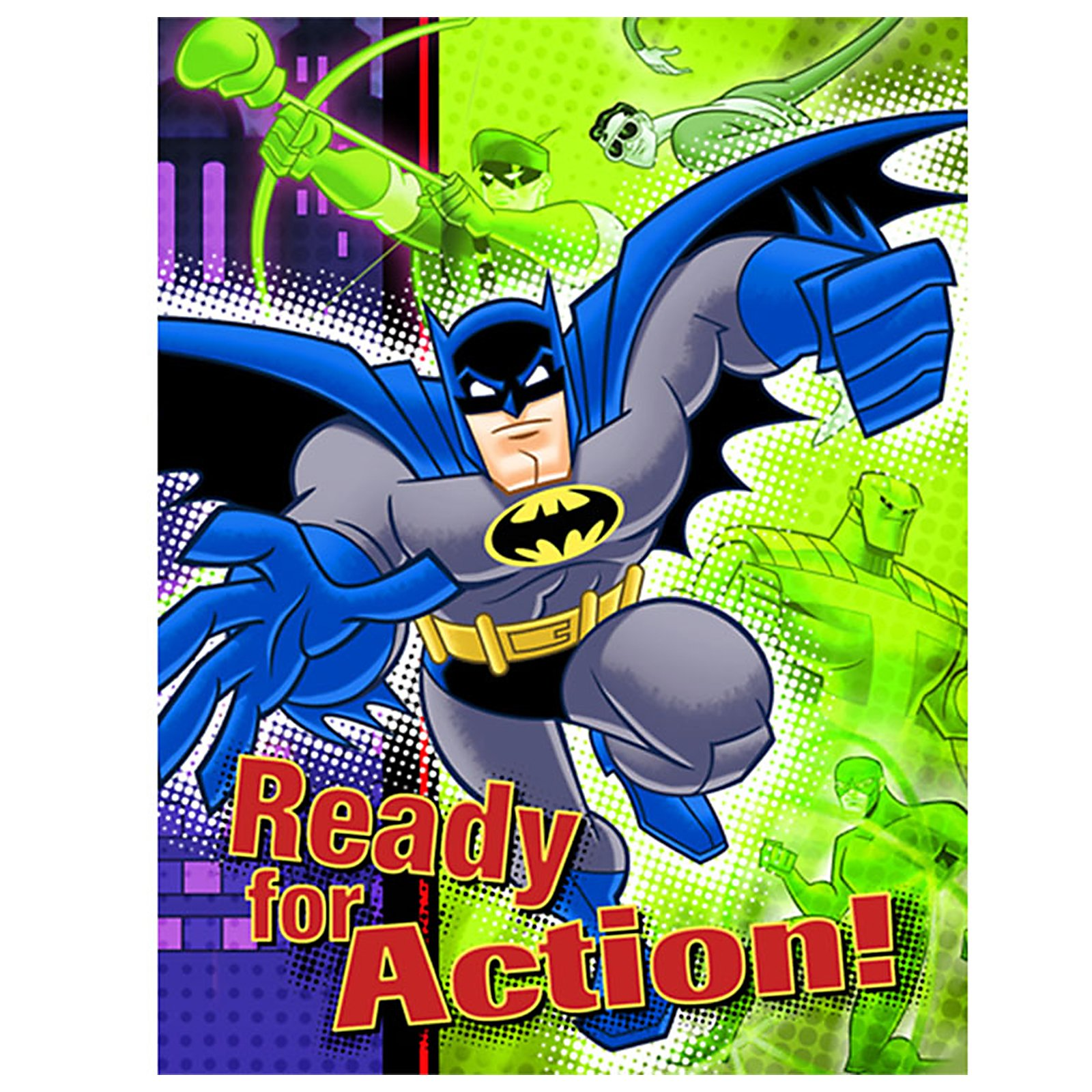 Batman Brave and Bold Invitations (8 count)