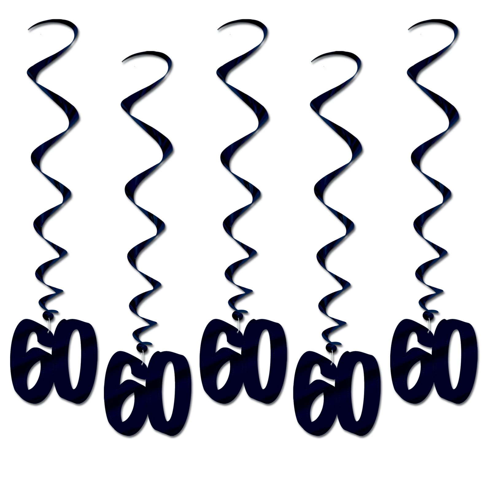 """60"" Hanging Whirls (5 count)"