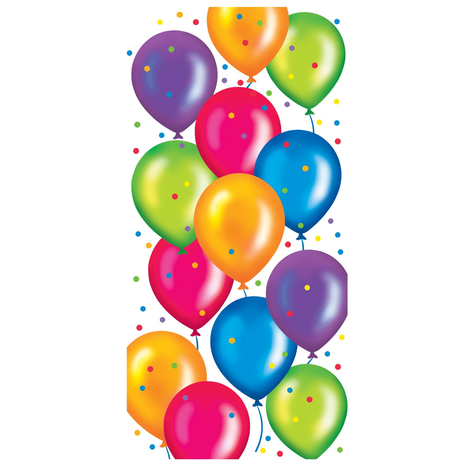 Birthday Balloons Cello Bags (20 count)