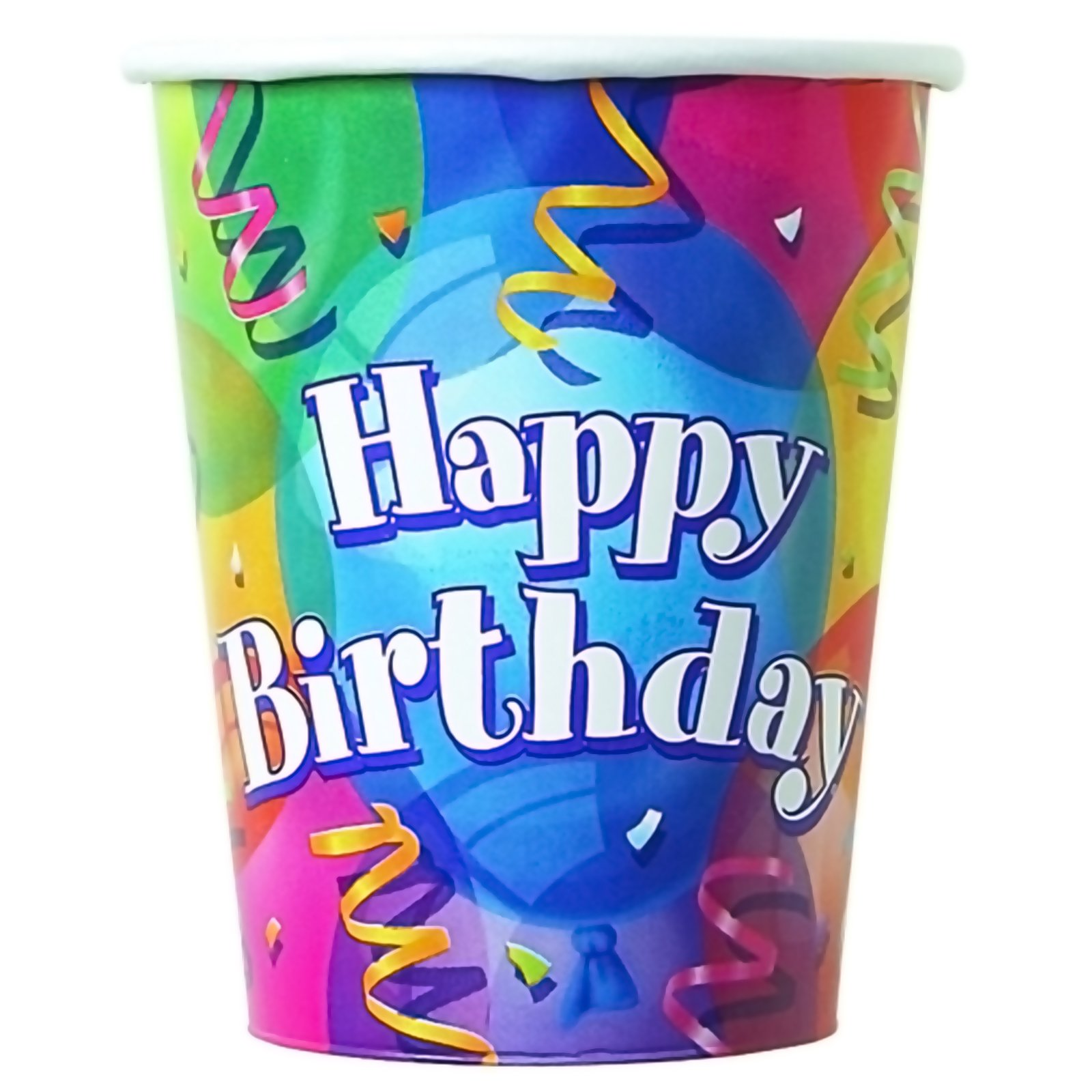 Brilliant Birthday 9 oz. Paper Cups (8 count)