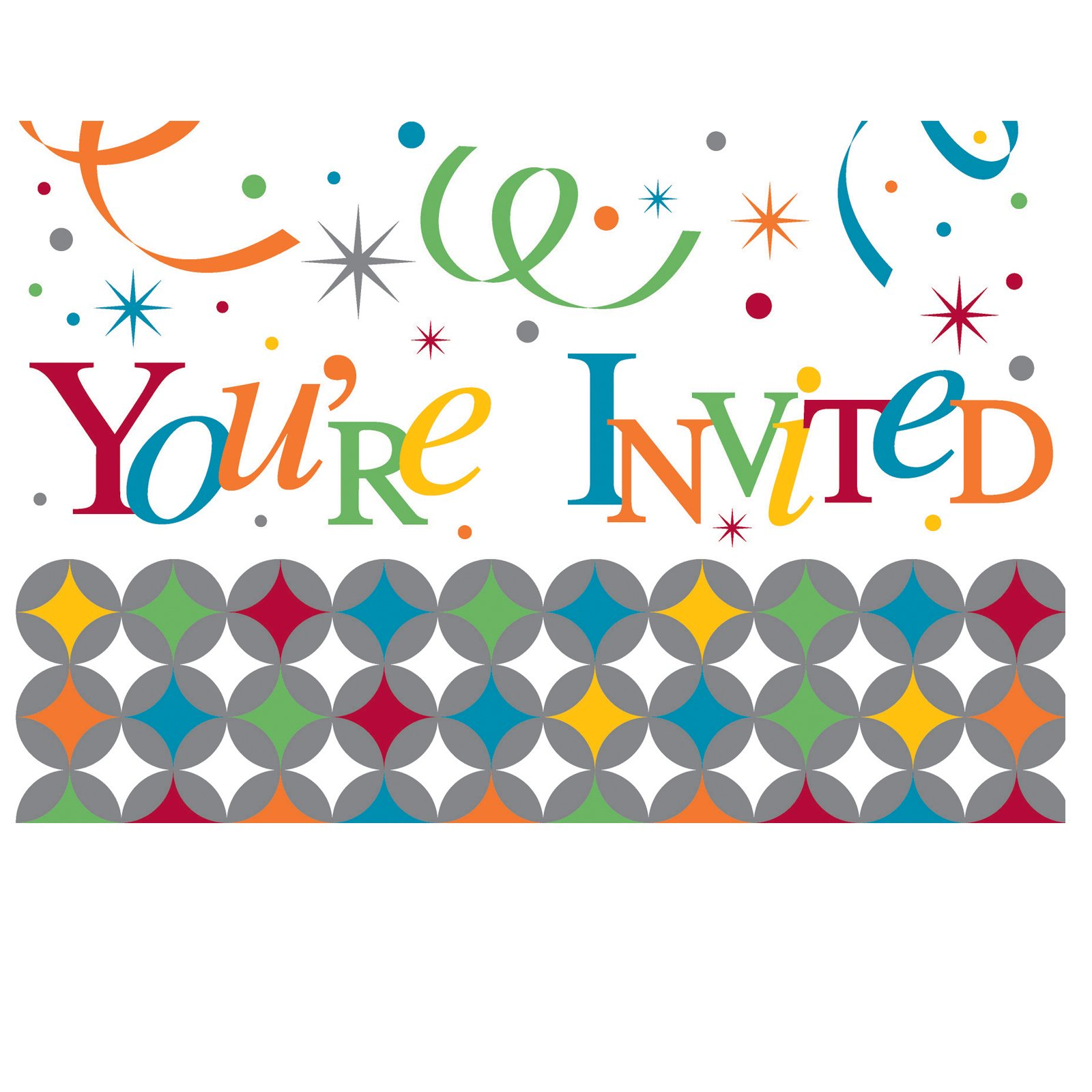 Celebrate In Style Invitations (8 count)