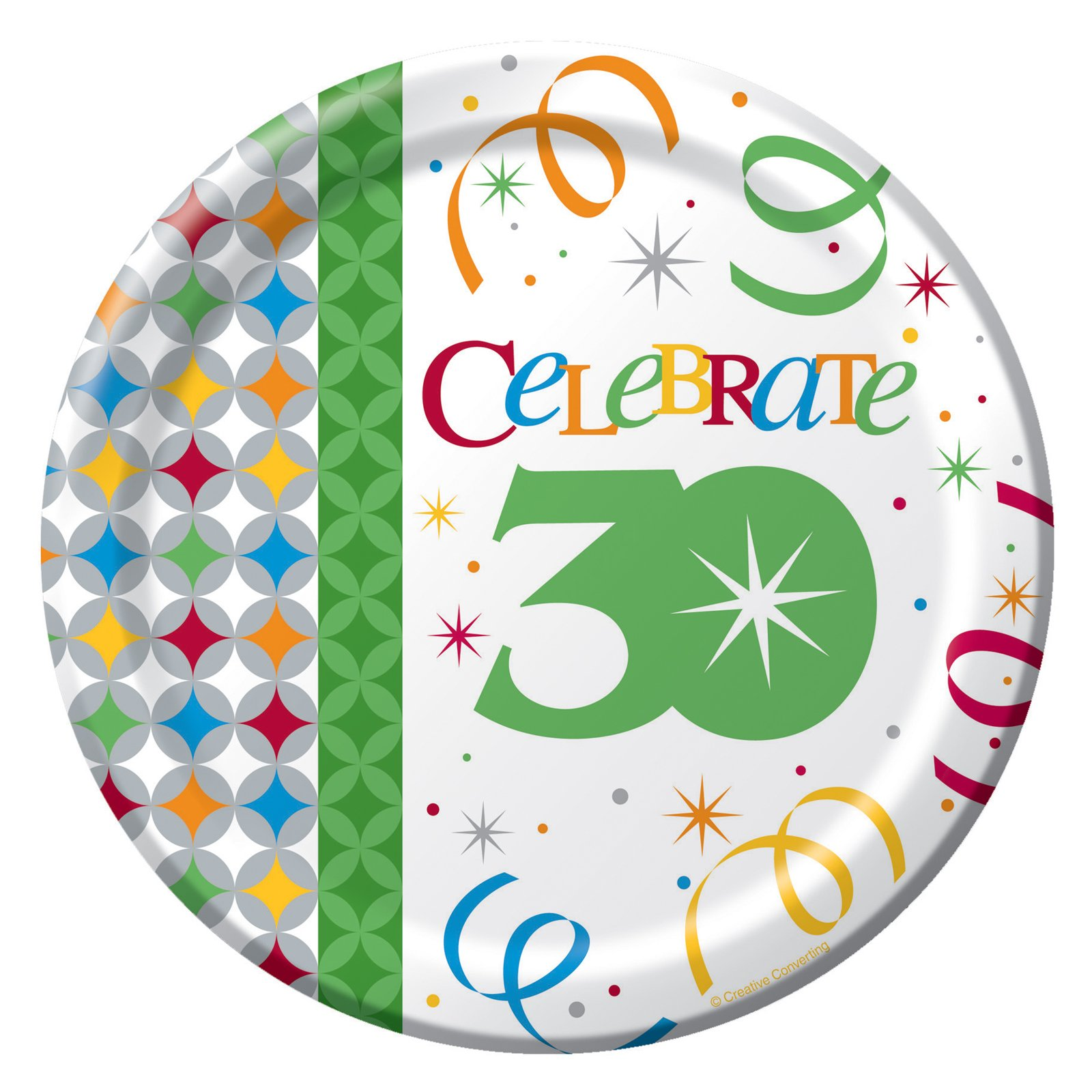 Celebrate In Style 30 Dessert Plates (8 count)