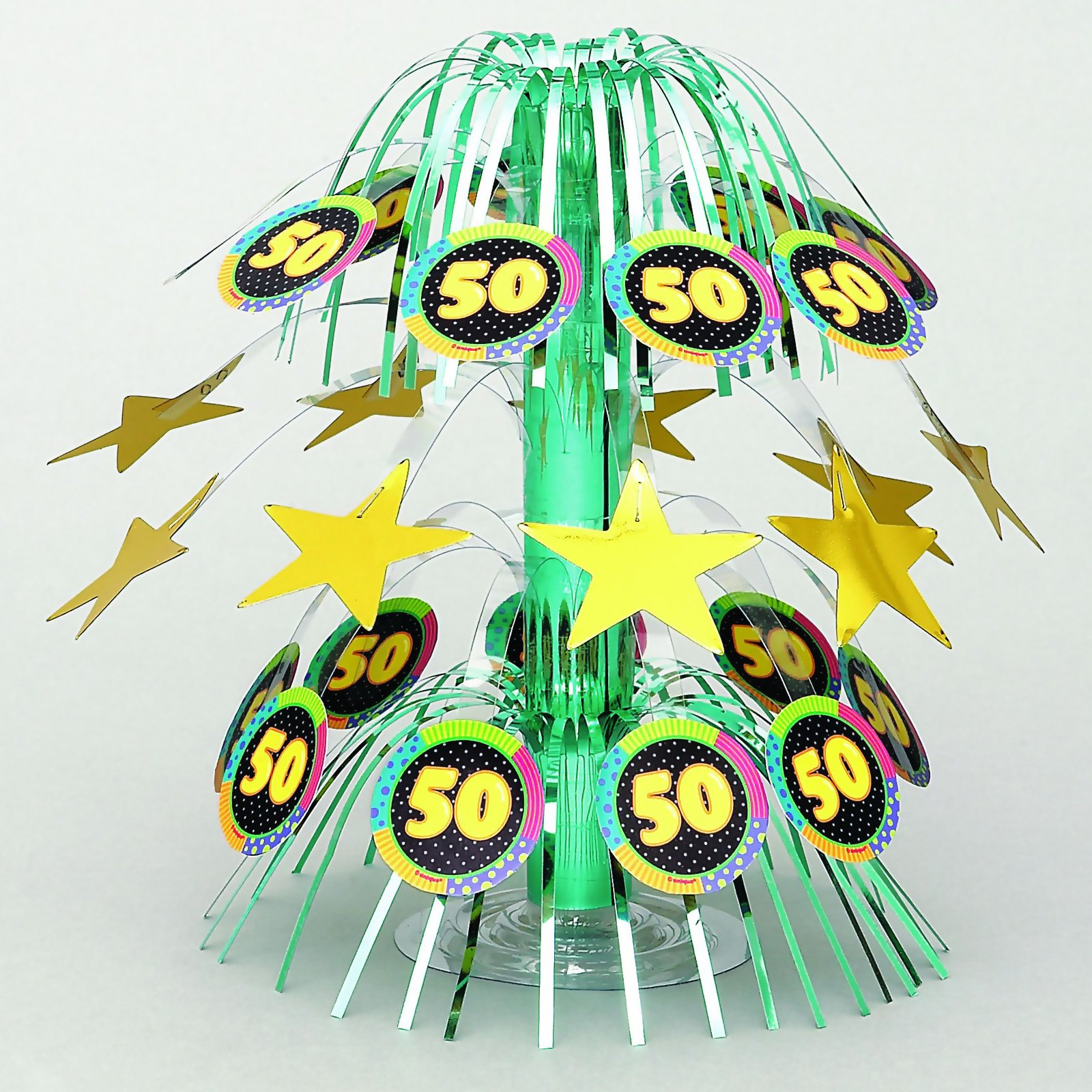 Infinite Birthday 50 Centerpiece