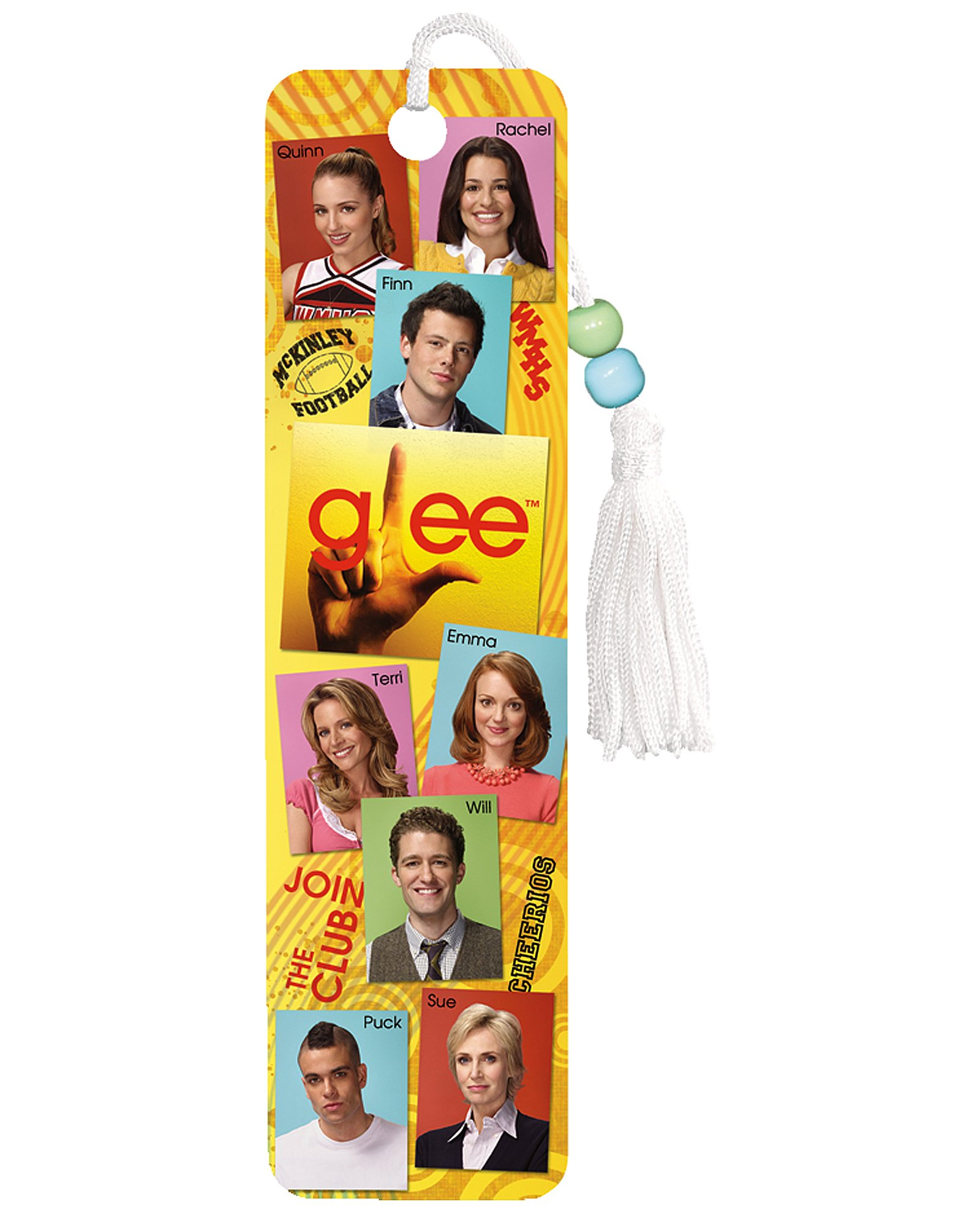 Glee Characters Bookmark (1 count)