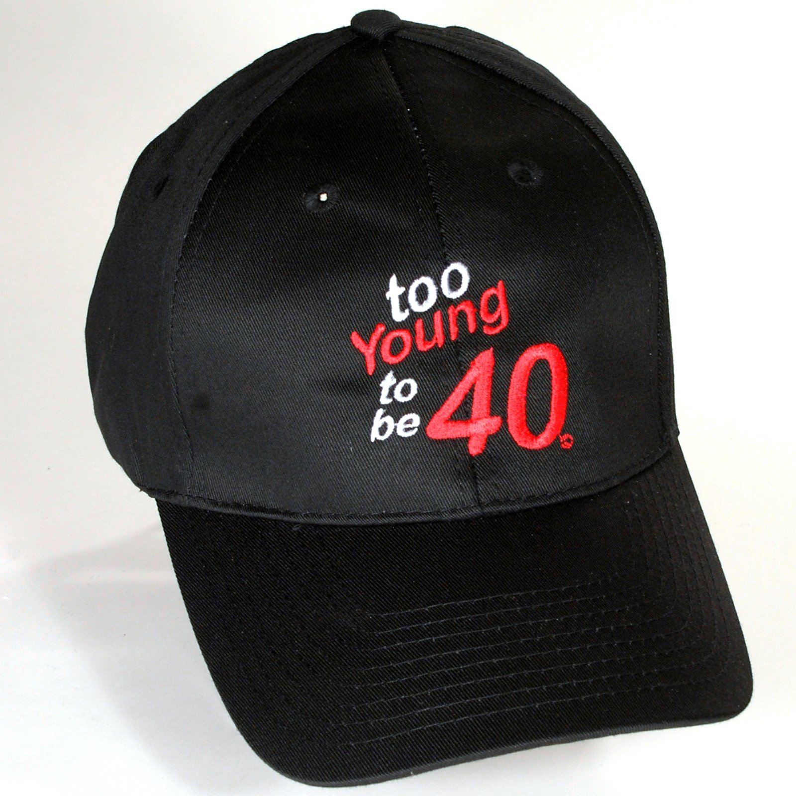 Too Young to be 40 Cap