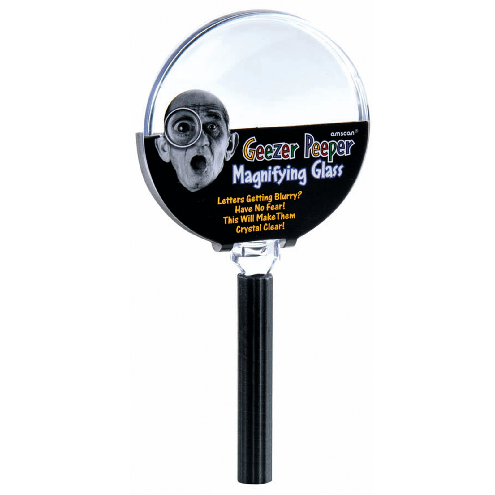 Over the Hill Geezer Peeper Magnifying Glass