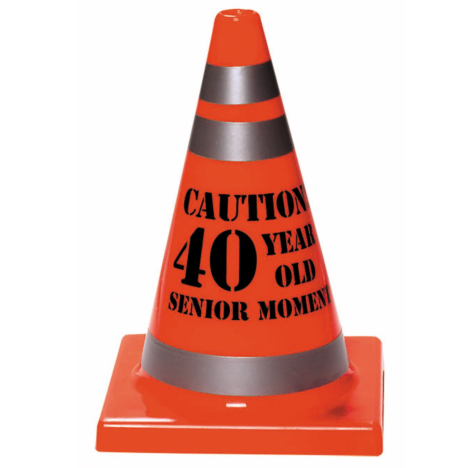 "Senior Moment ""40"" Construction Cone"