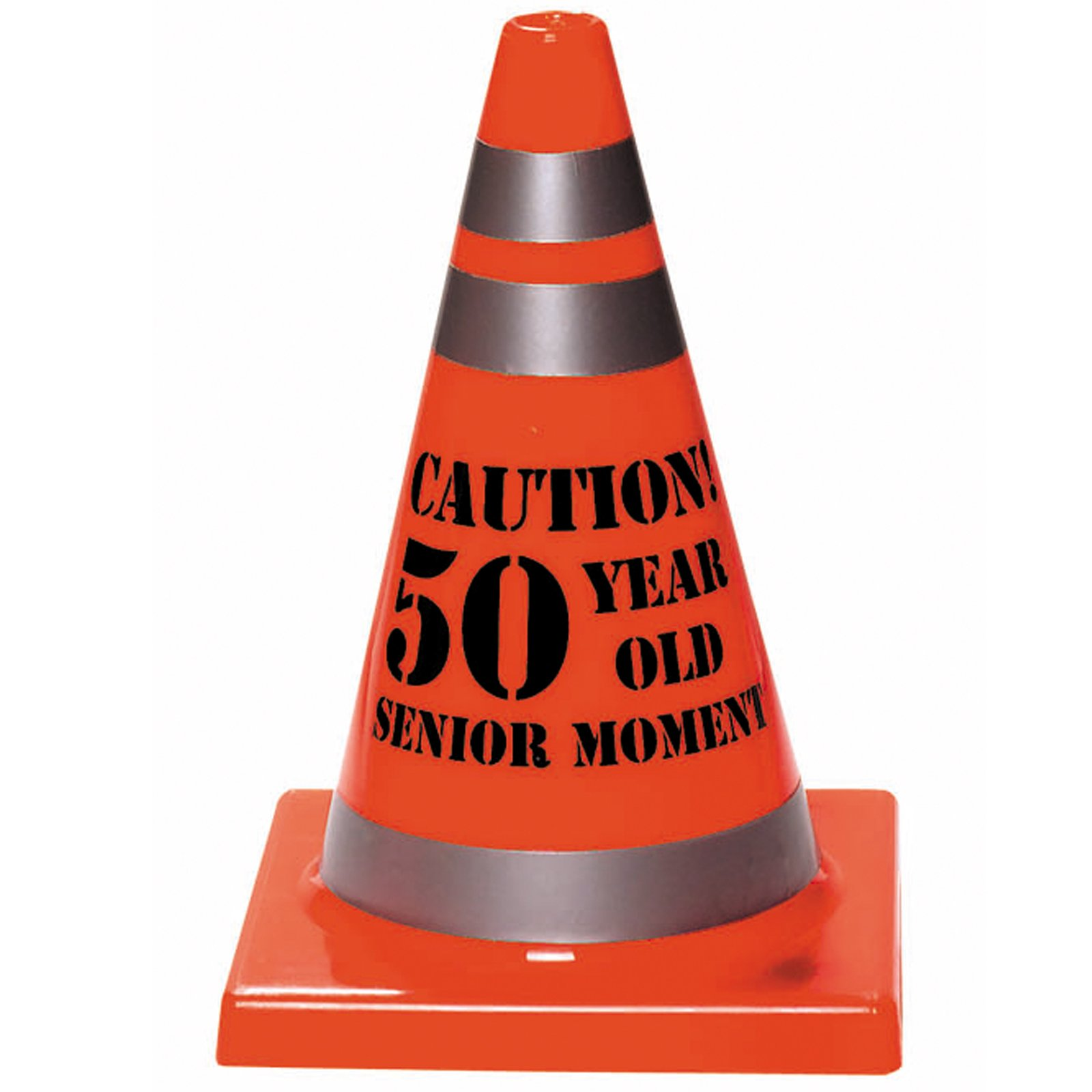 "Senior Moment ""50"" Construction Cone"