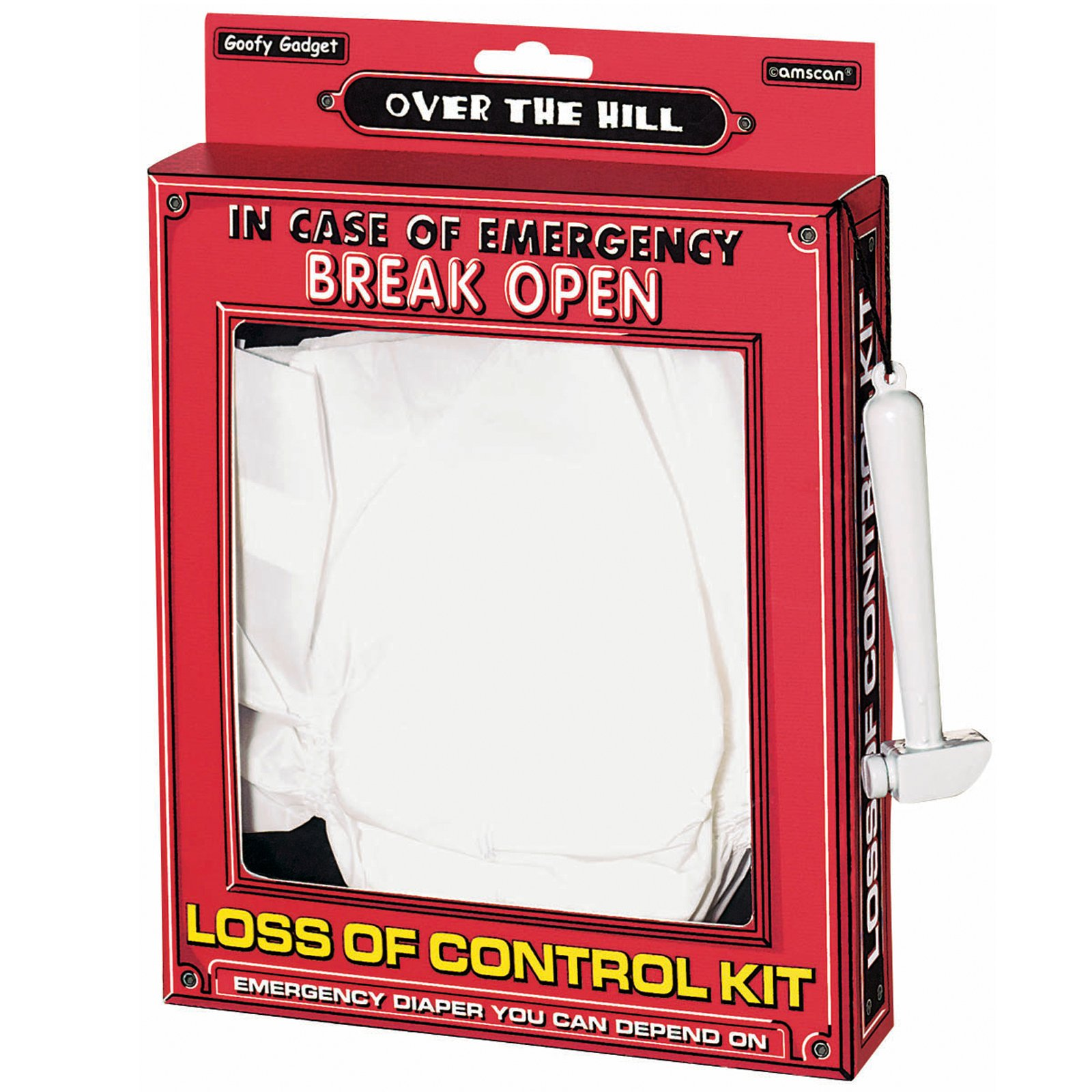 Over the Hill Emergency Loss of Control Kit