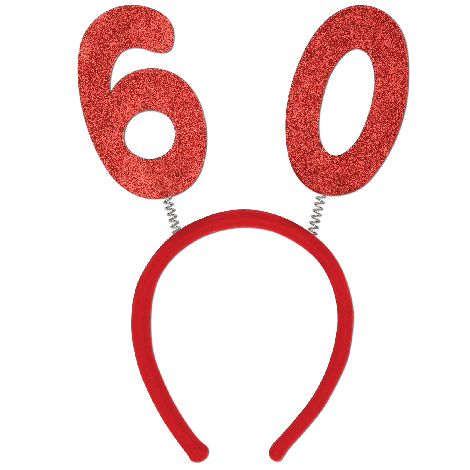 "Glittered Head Bopper ""60"""