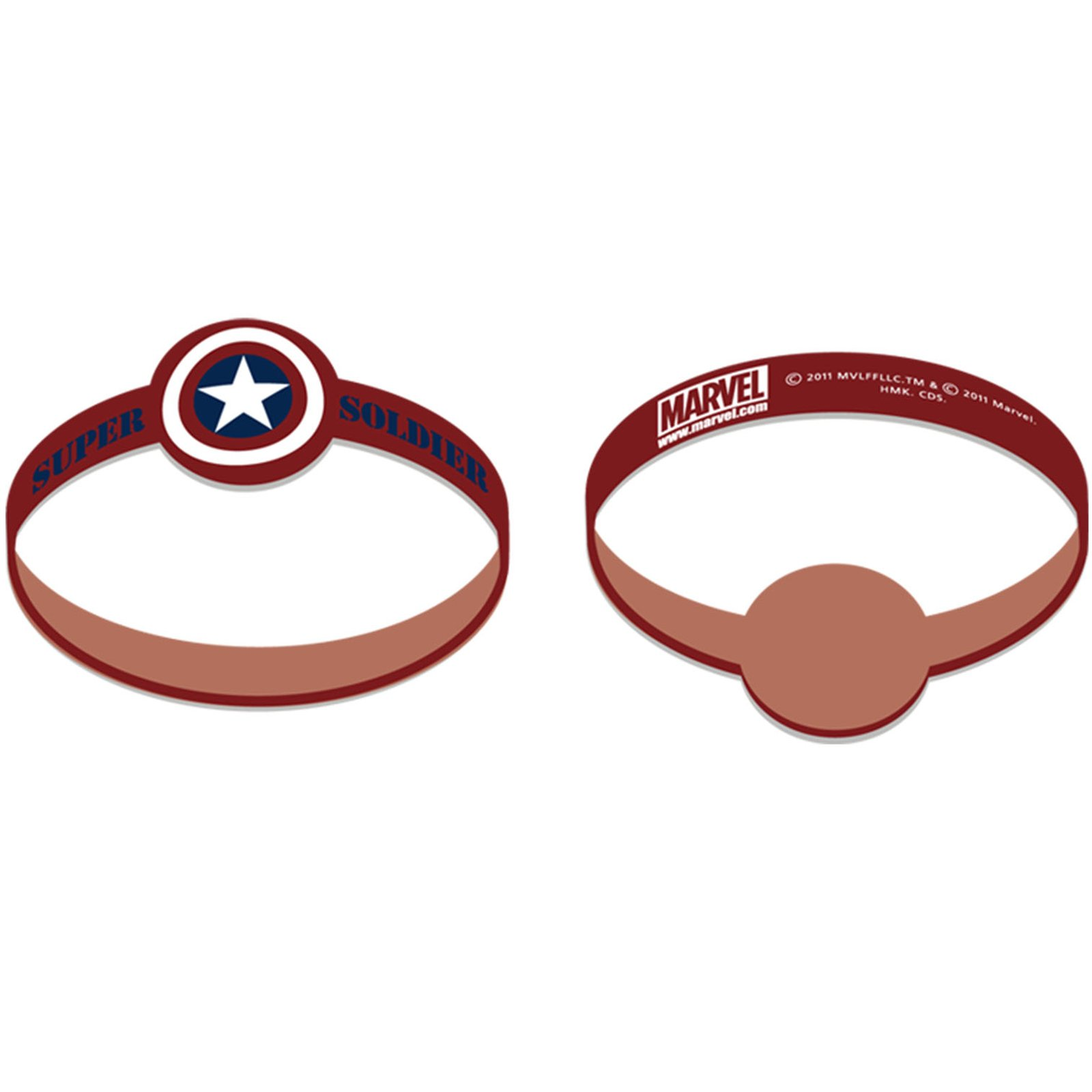 Captain America - Wristbands (4 count)