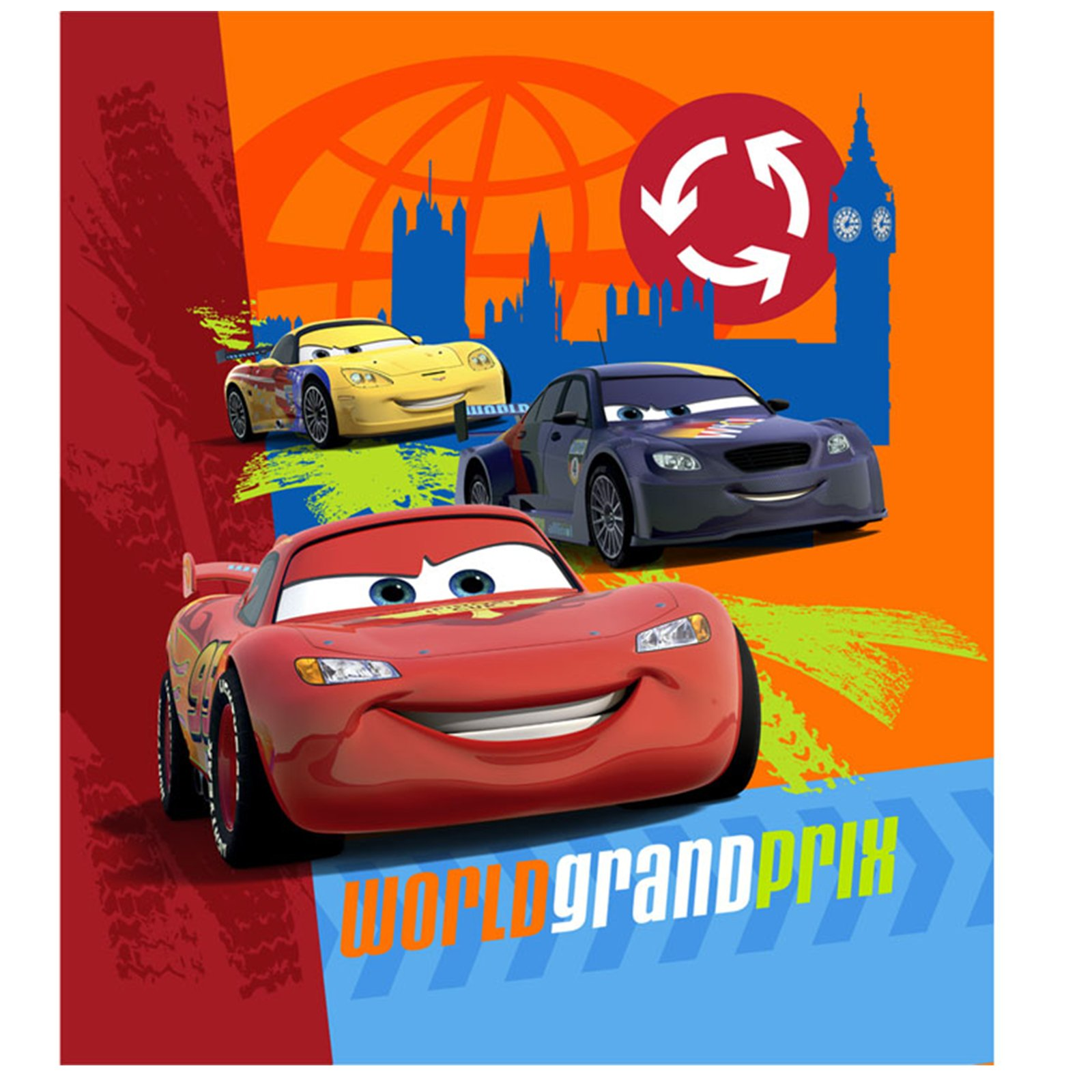 Disney Cars 2 - Notepads (4 count)