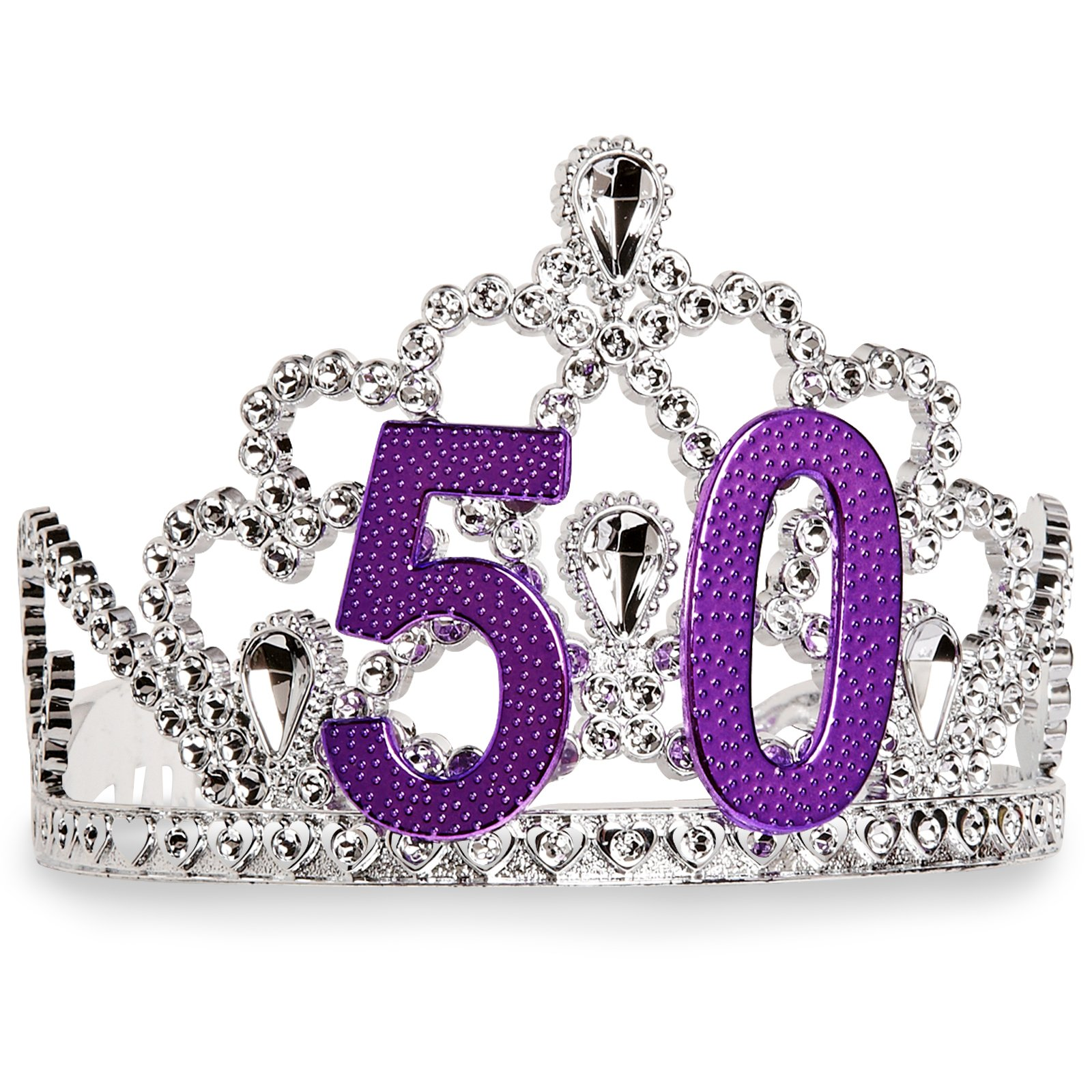 "Birthday Tiara ""50"""