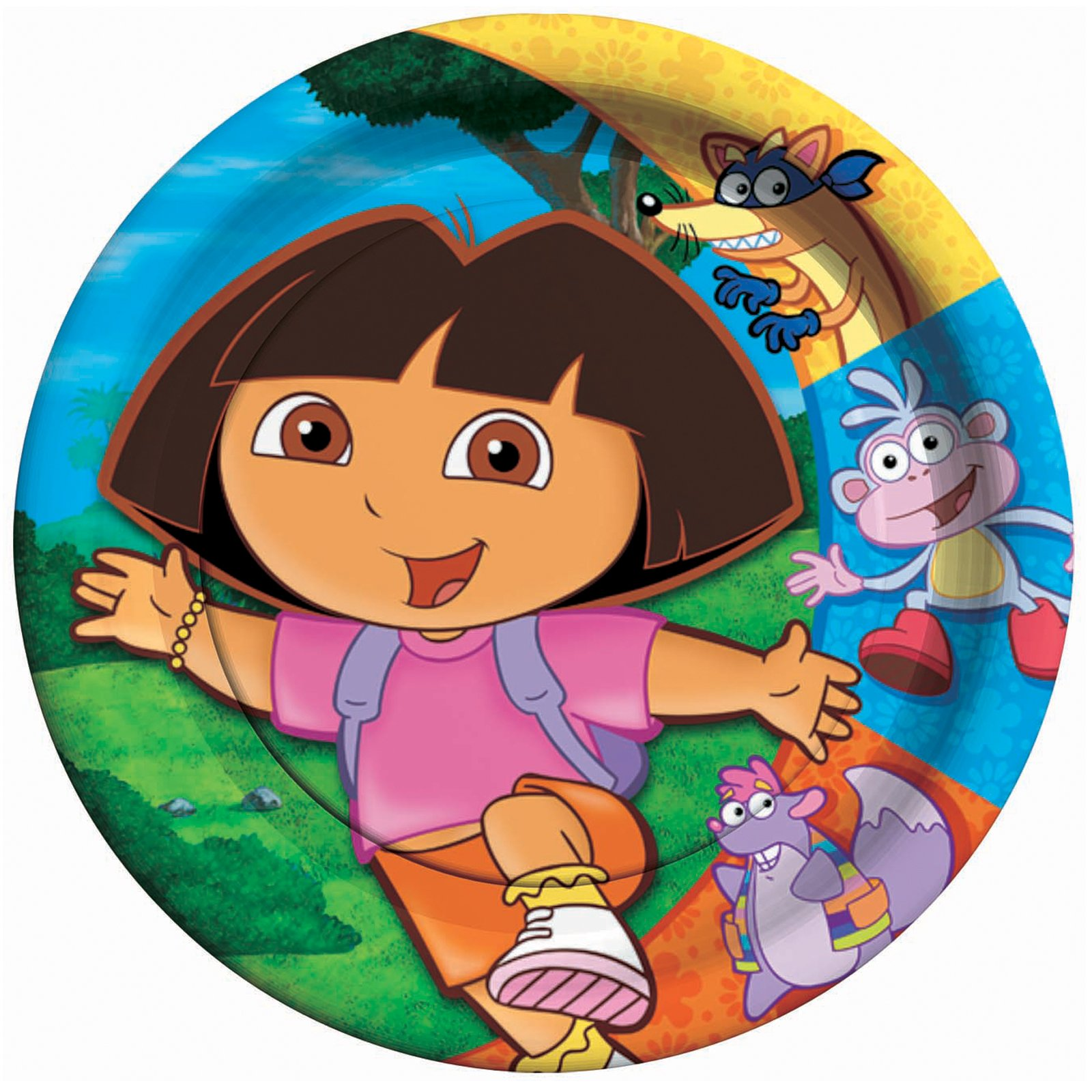 Dora and Friends Dinner Plates (8 count)
