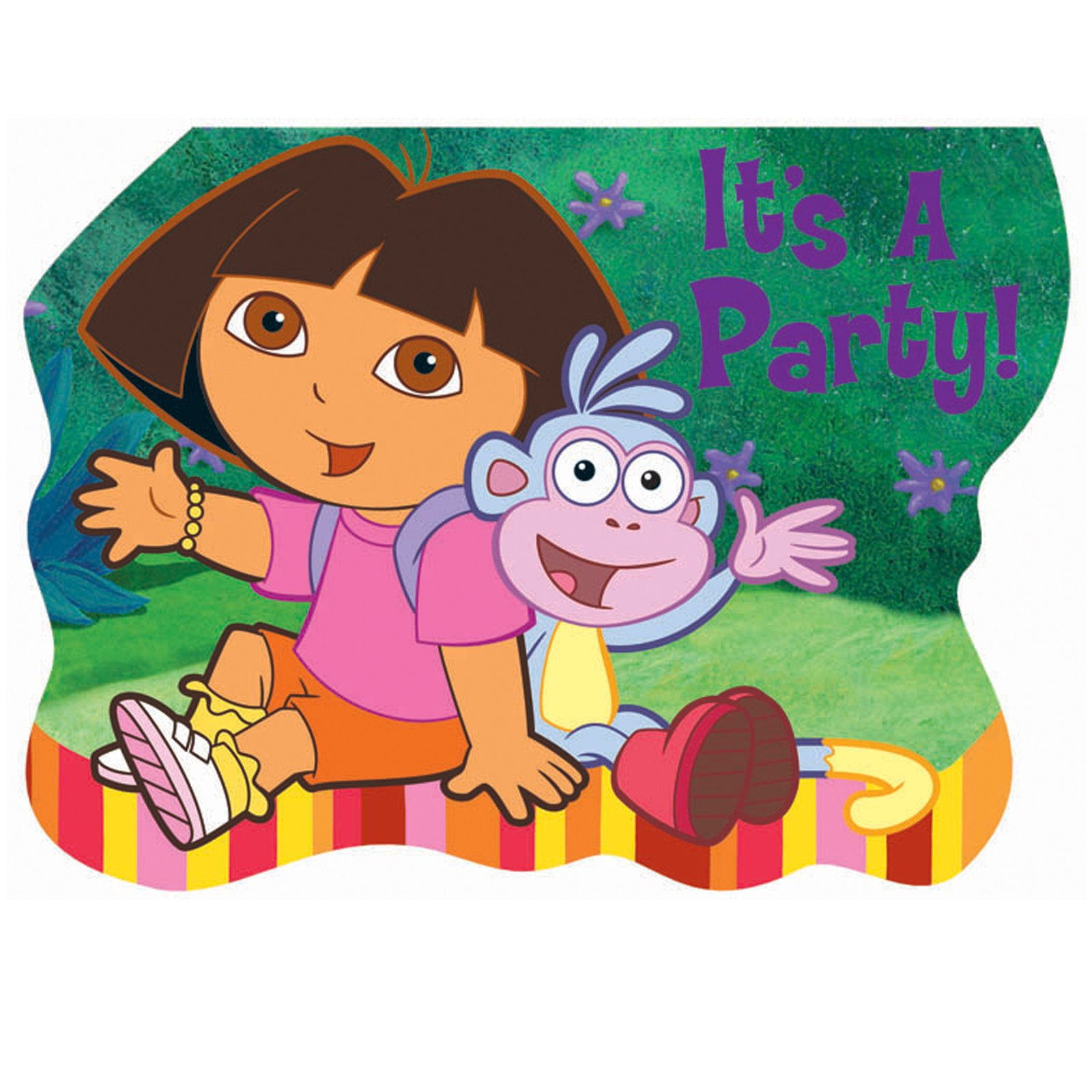 Dora and Friends Invitations (8 count)
