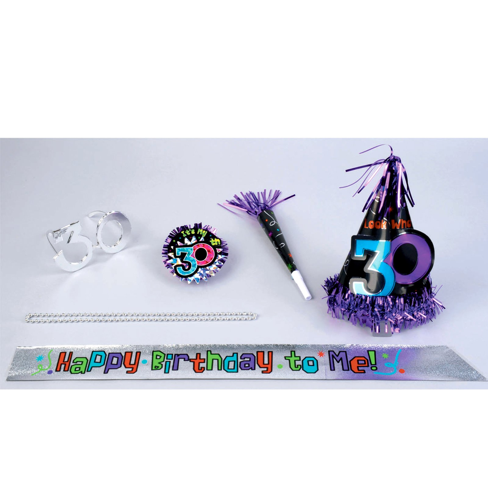 All In One 30 Birthday Party Kit