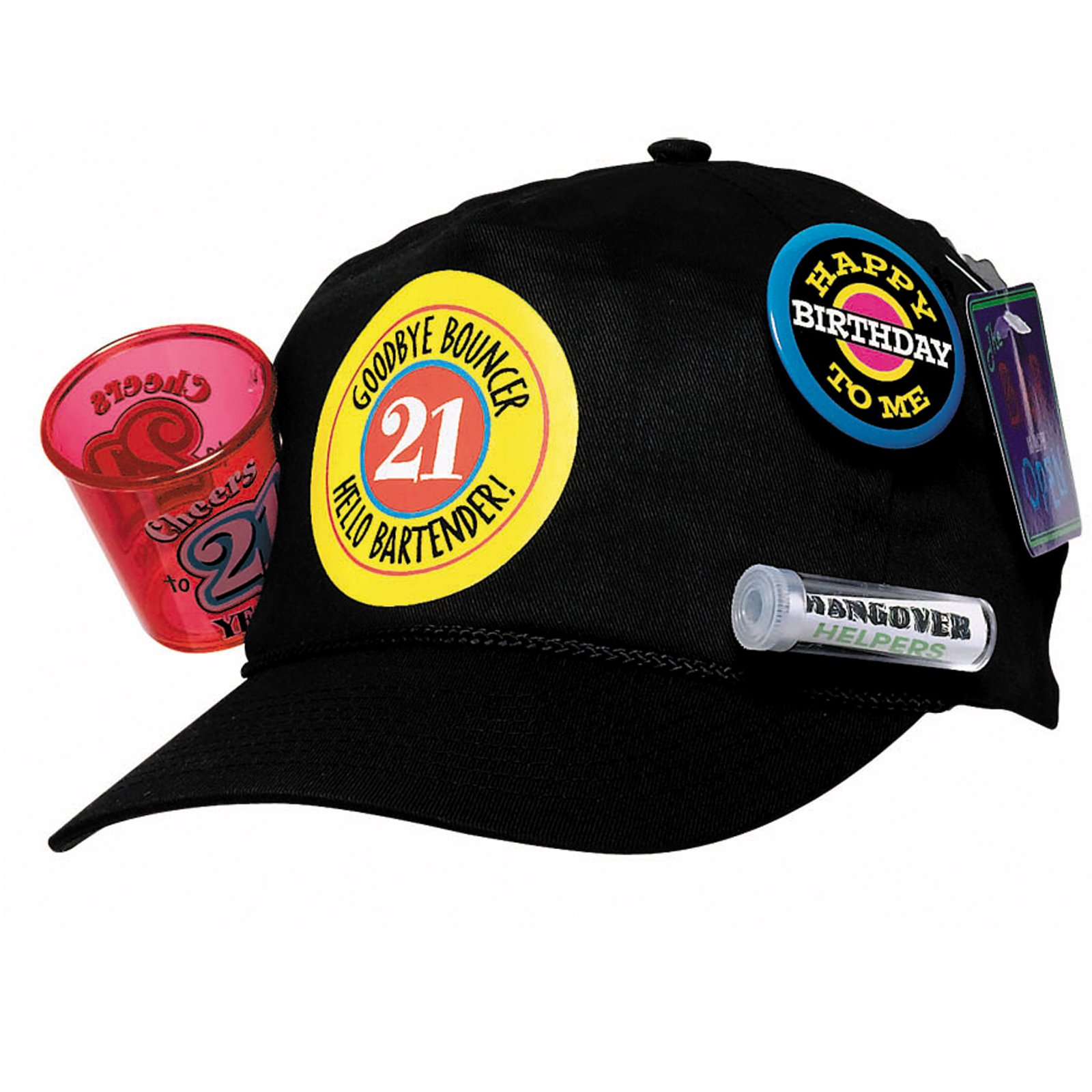 21st Birthday Survival Baseball Cap Party Themes