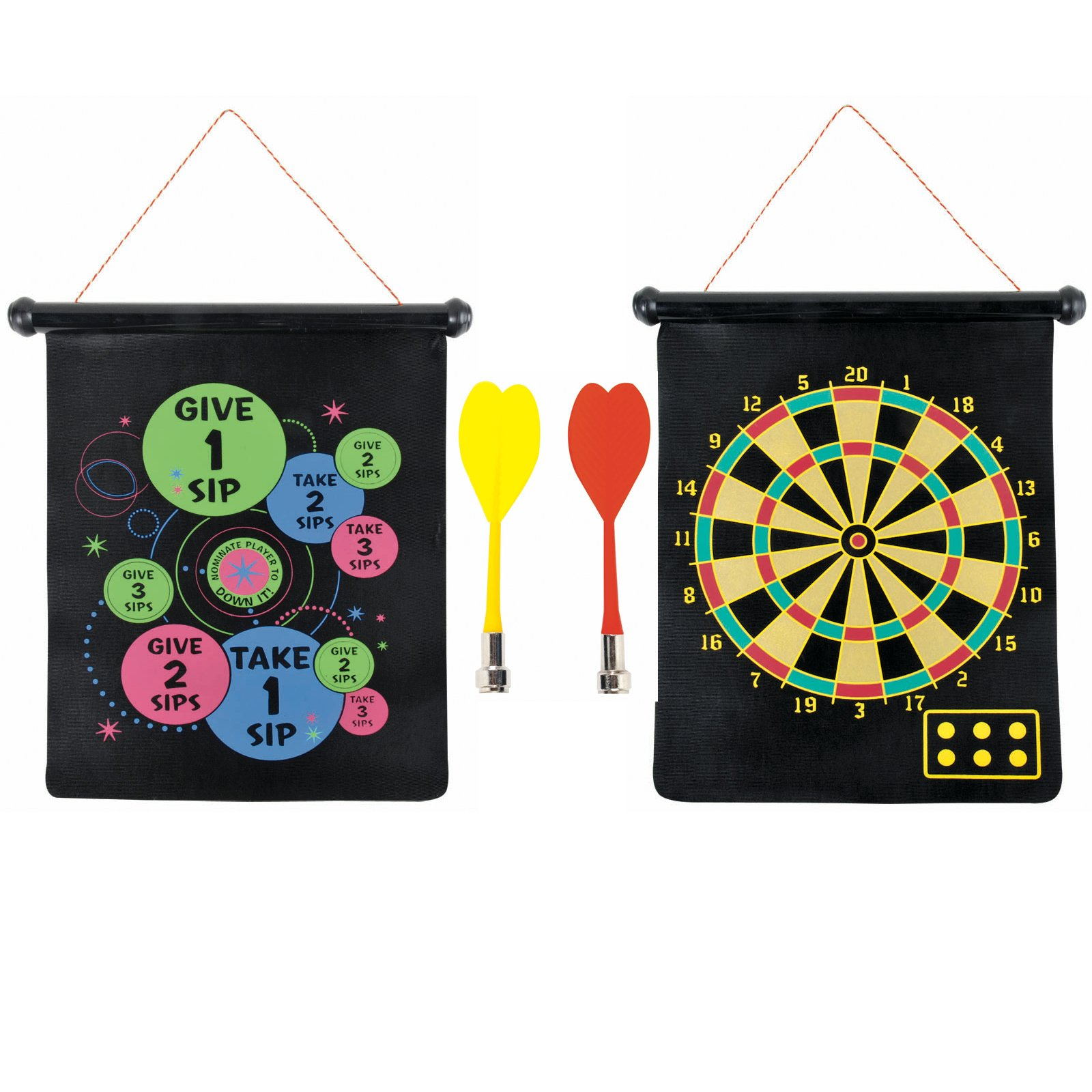 Magnetic Adult Dart Board (2 sided)
