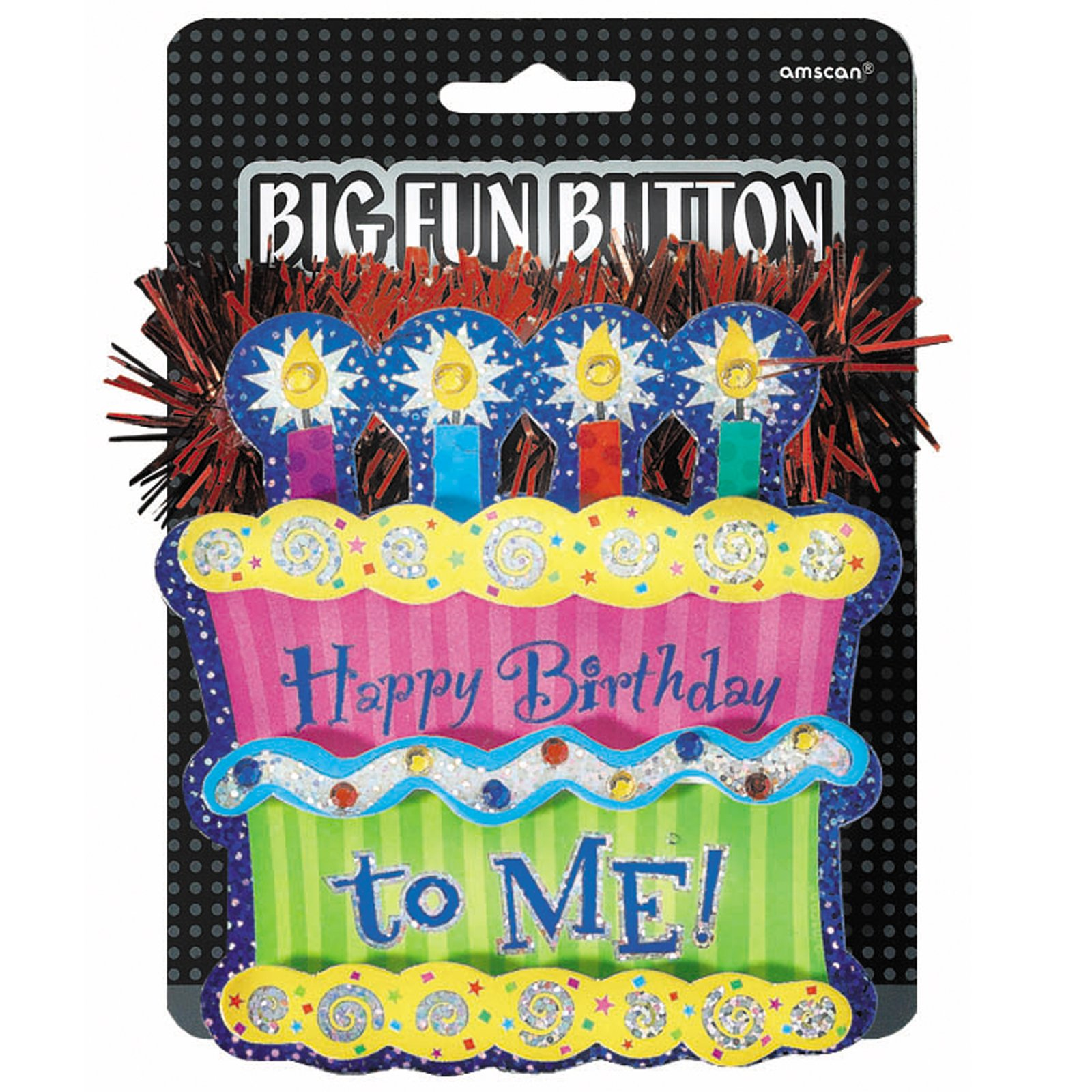 Happy Birthday Big Fun Button